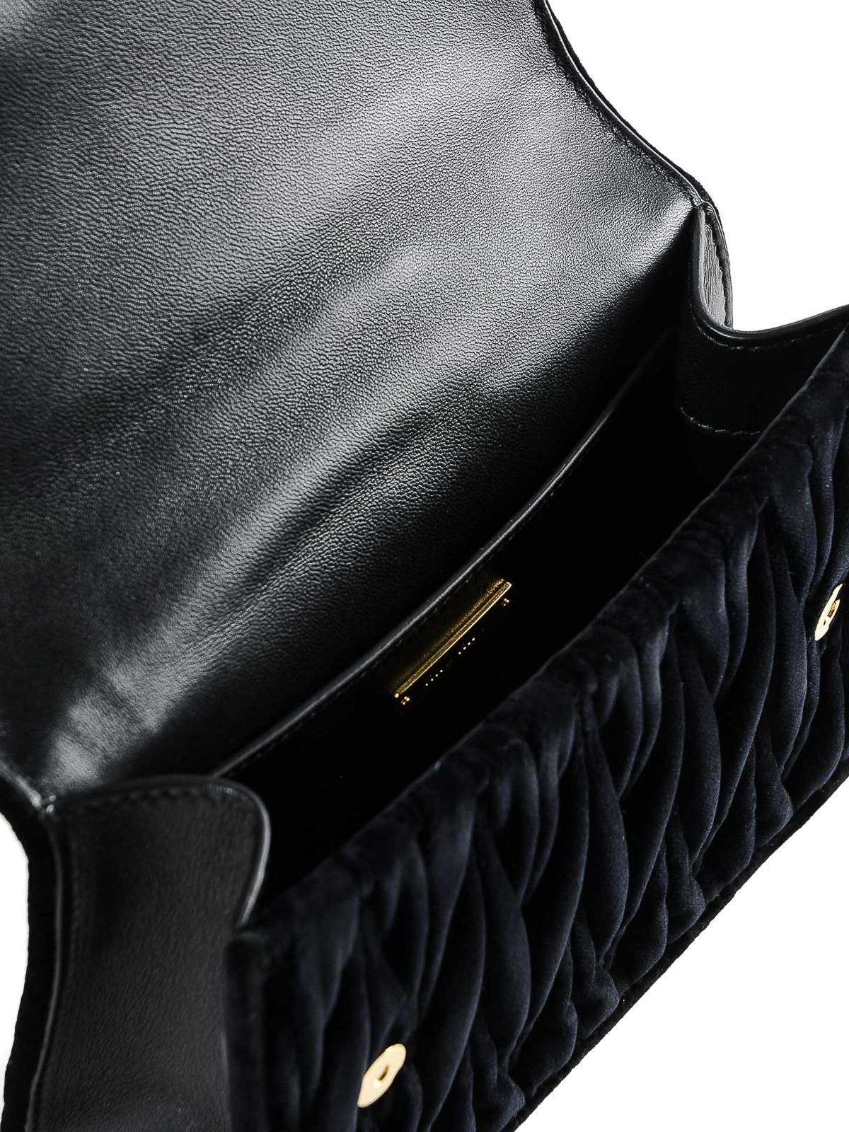 5921beb144d1 Miu Miu - Lady velvet jewel cross body bag - cross body bags ...