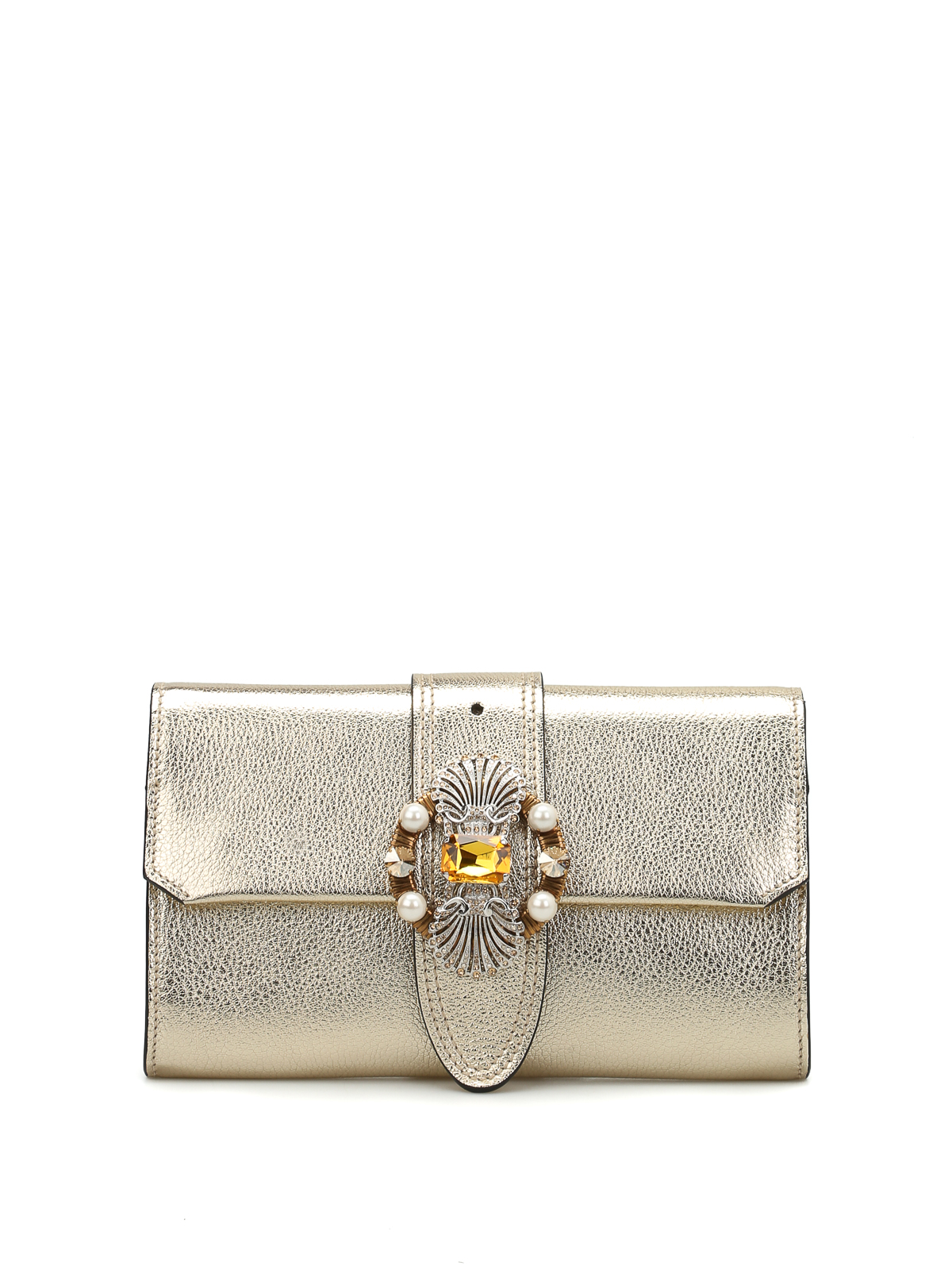 1f73452851cc Miu Miu - Jewel bag with chain shoulder strap - cross body bags ...