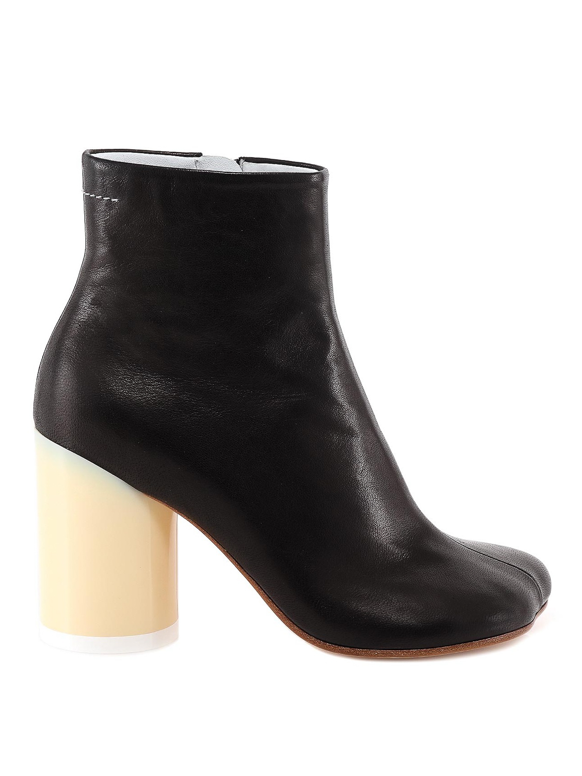 Mm6 Maison Margiela TWO-TONE ANKLE BOOTS
