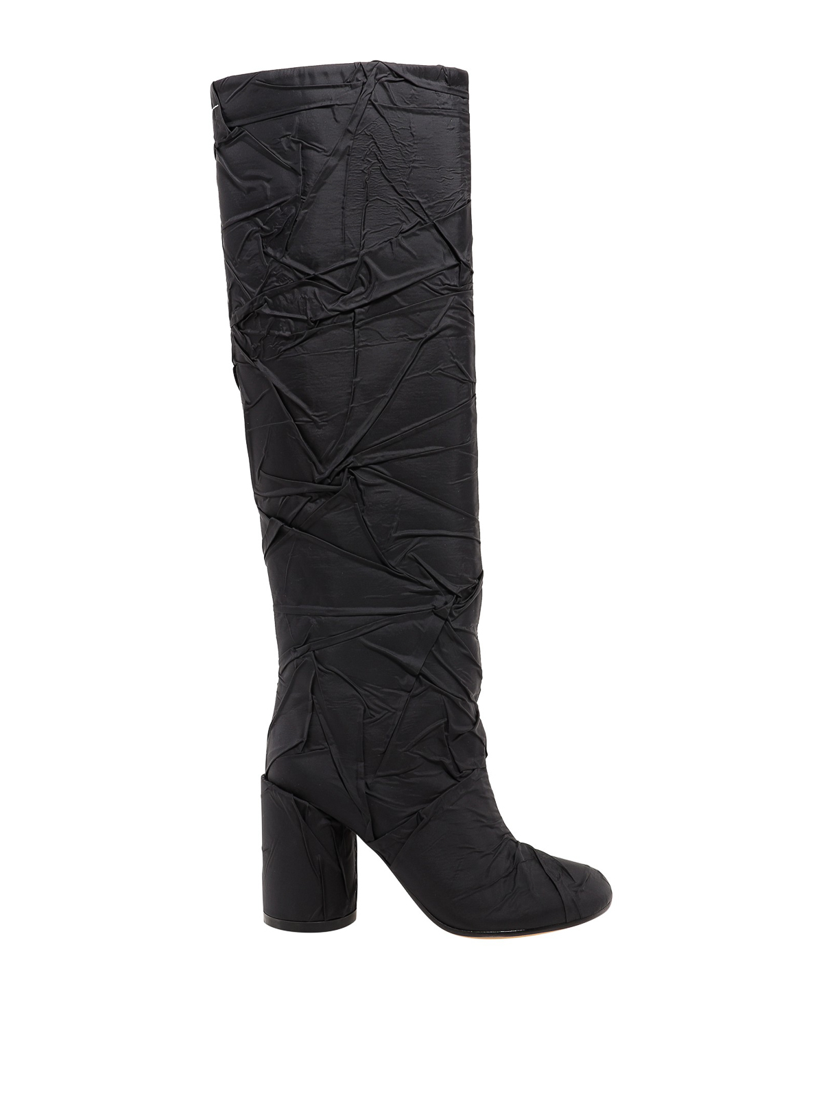 Mm6 Maison Margiela CRINKLE EFFECT BOOTS