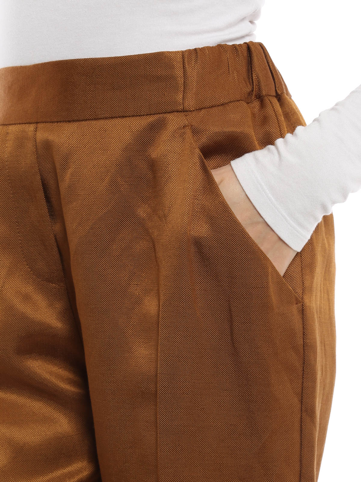 Trousers featuring elastic waist by mm6 maison margiela for Mm6 maison margiela