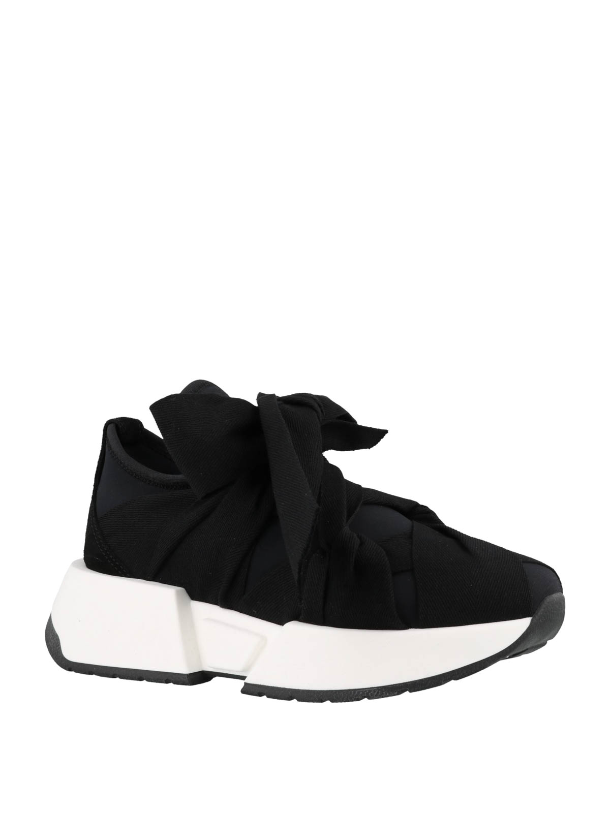 MARGIELA con Sneaker online MAISON tessuto sneakers MM6 fiocco in w5axqzS