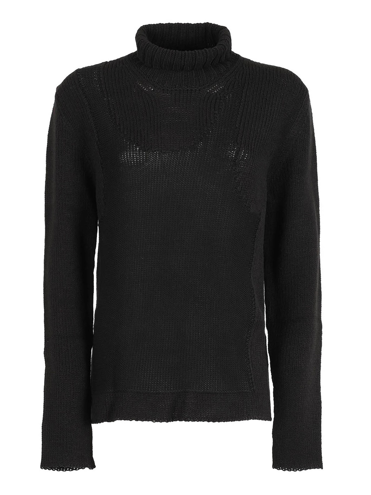 Mm6 Maison Margiela COTTON AND WOOL BLEND TURTLENECK