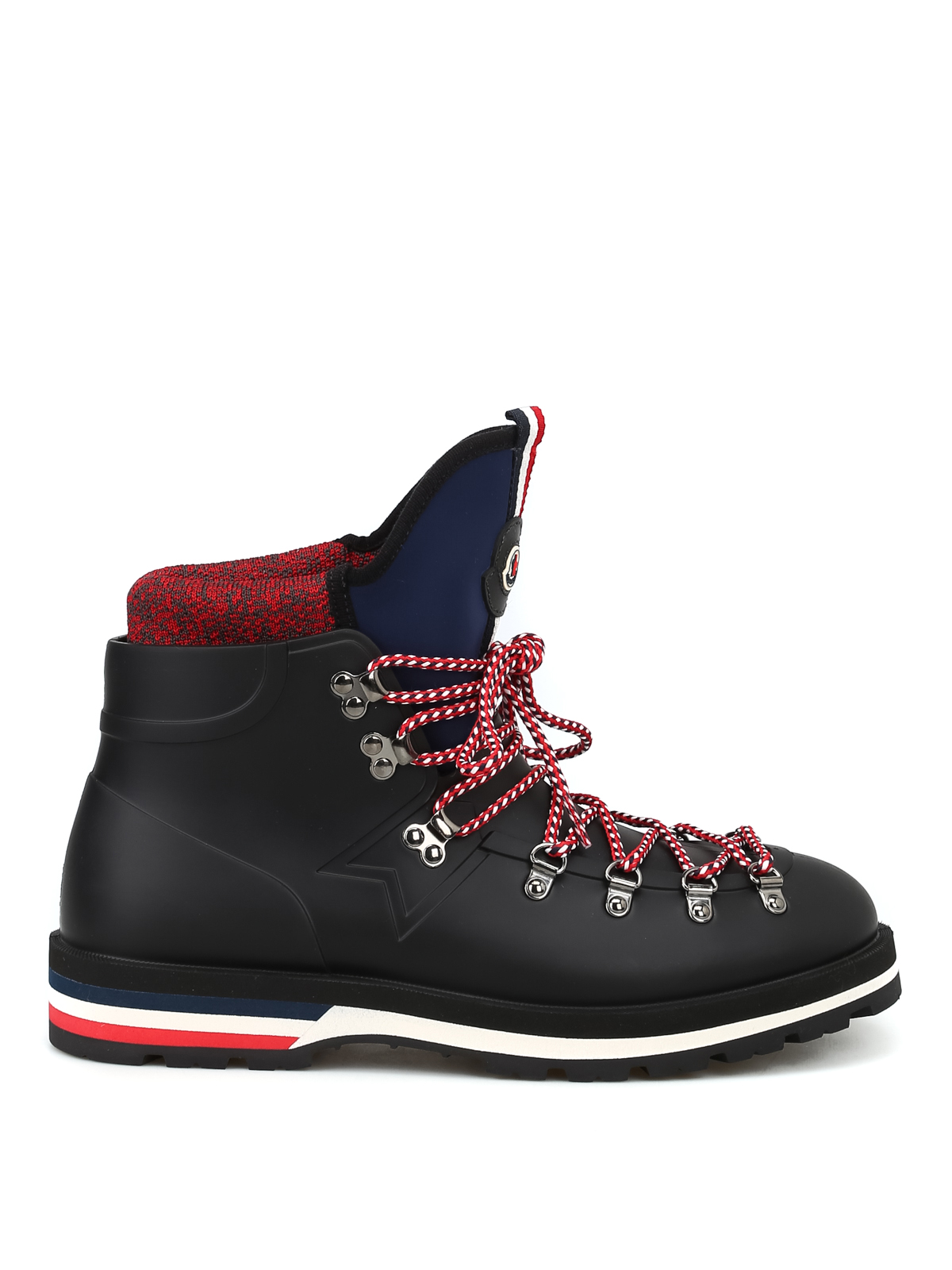 31c94540a0c Moncler - Henoc rubber lace-up hiking boots - ankle boots - D2 09A ...