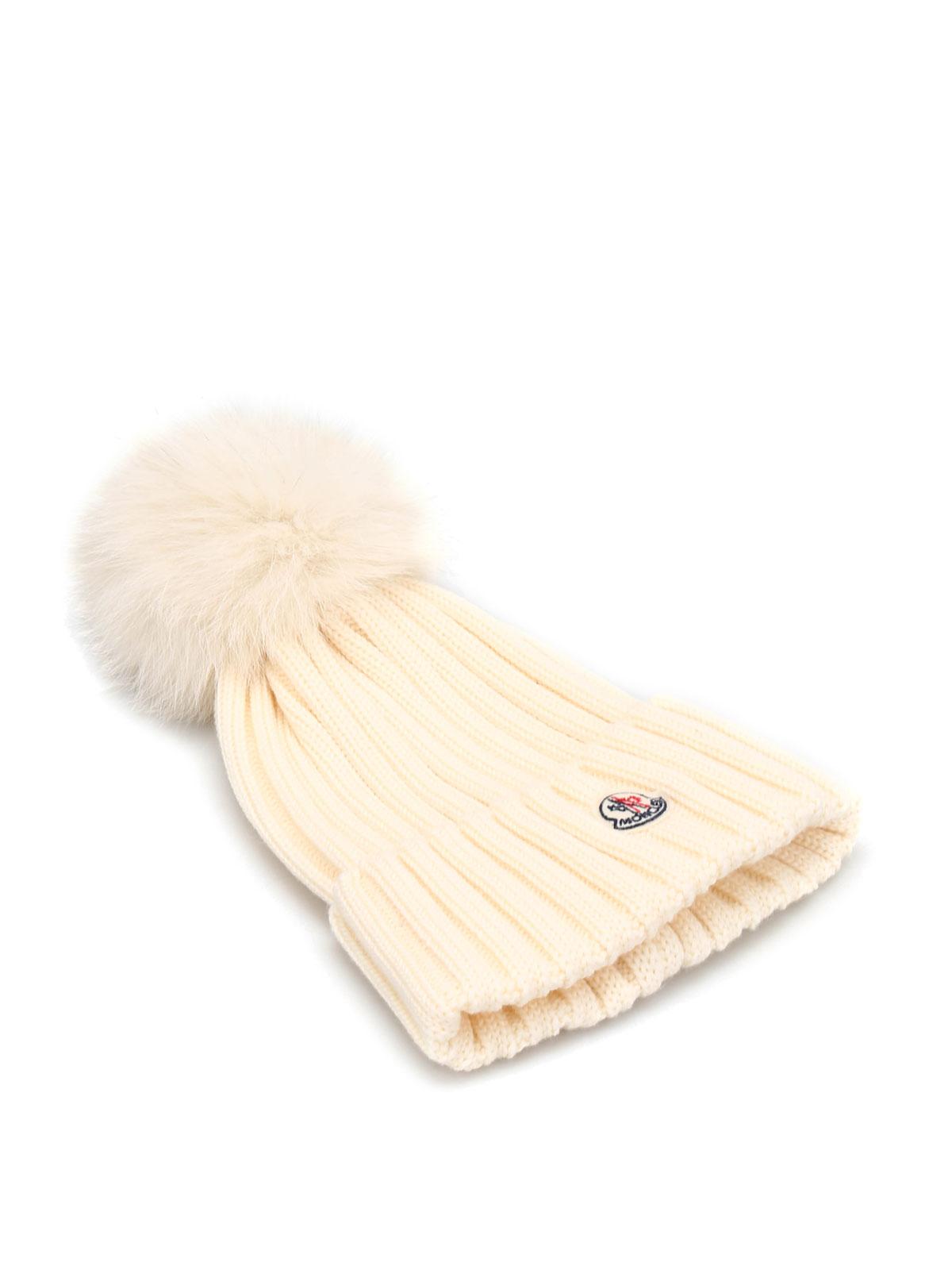 Moncler Bonnet Blanc Pour Femme Bonnets B2 093 0021900