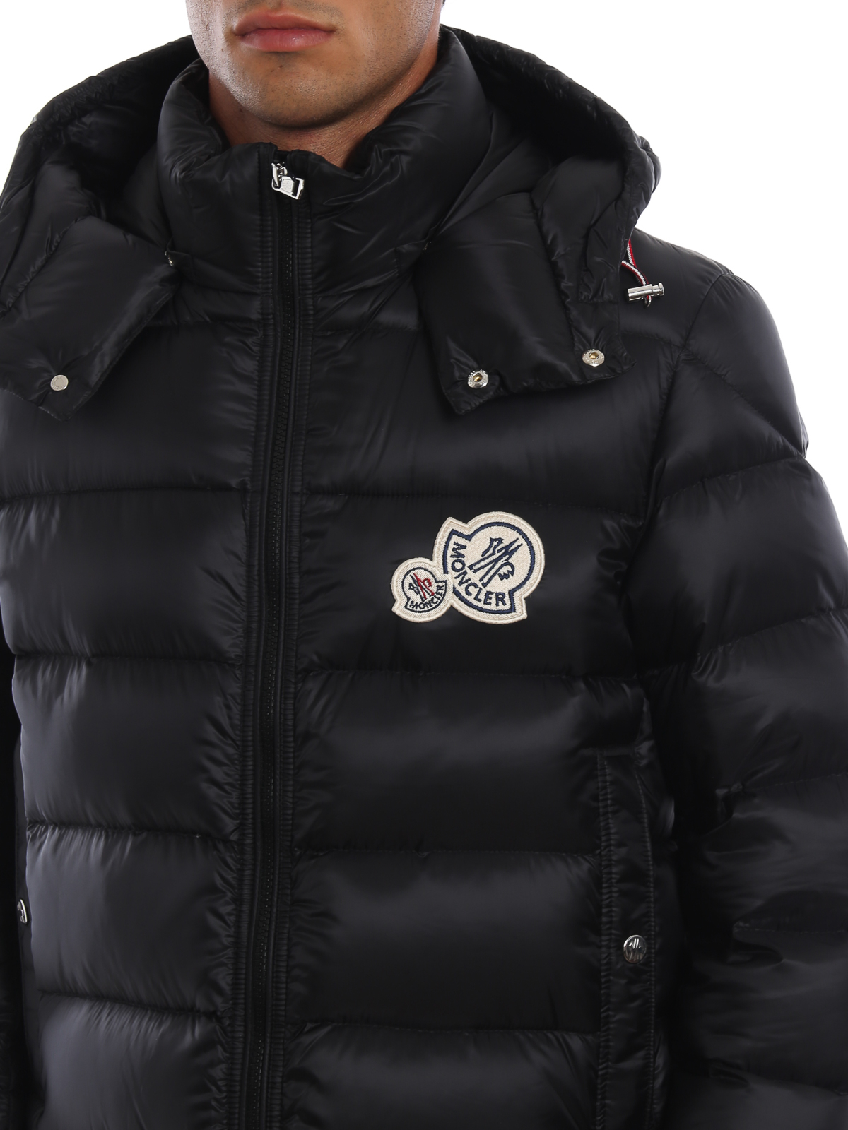 7f67abdd5 Moncler - Bramant black hooded puffer jacket - padded jackets - D2 ...