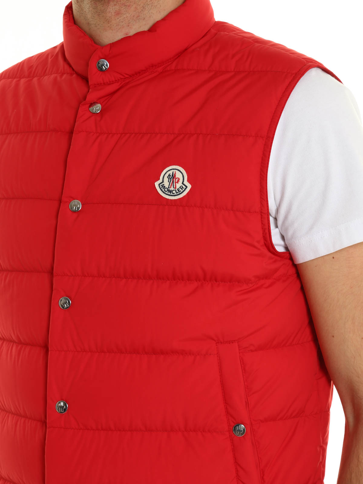 d56508068 Moncler - Febe sleeveless padded jacket - padded jackets - FEBE5396F 452