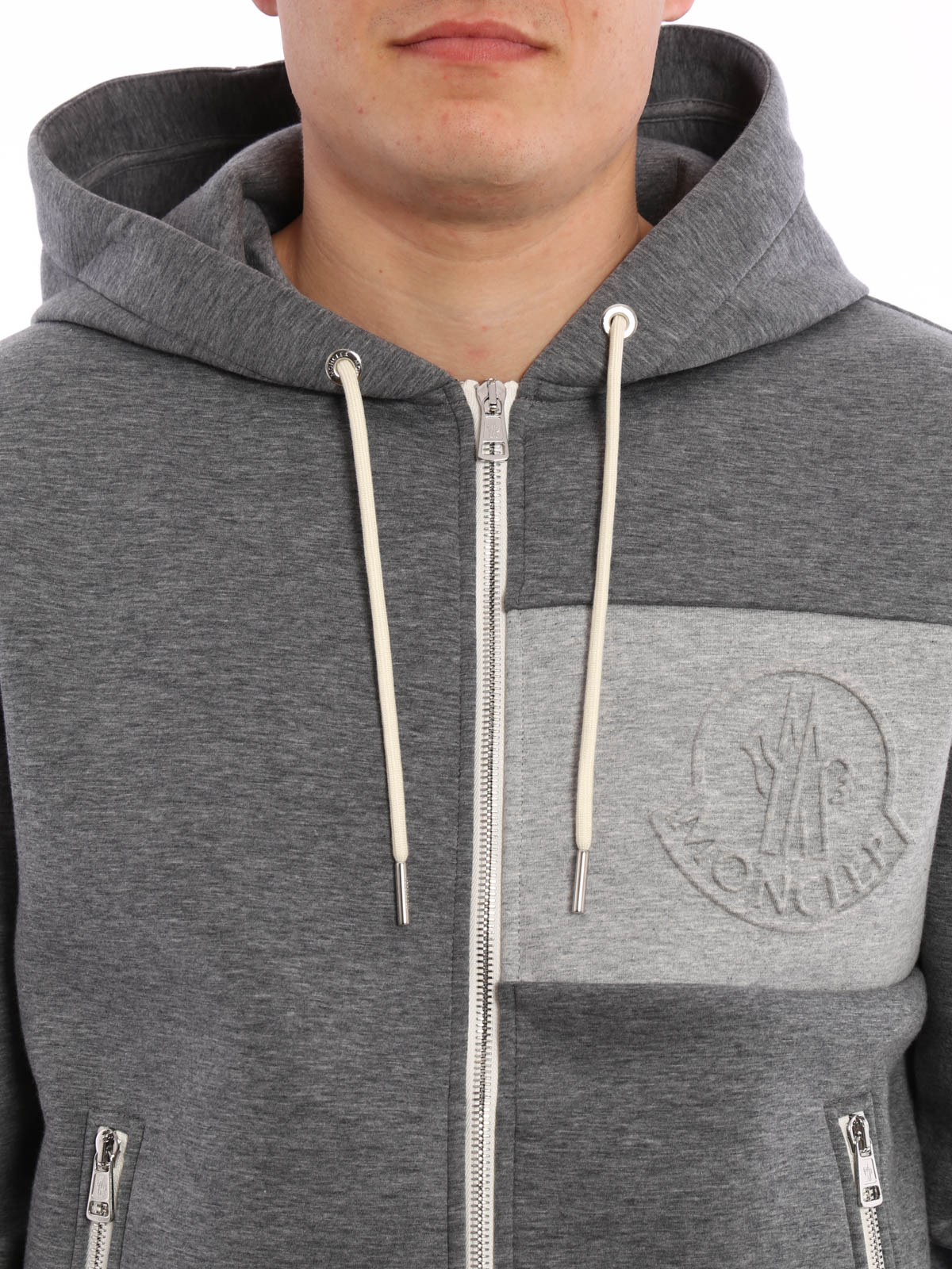 moncler sweatshirt grau