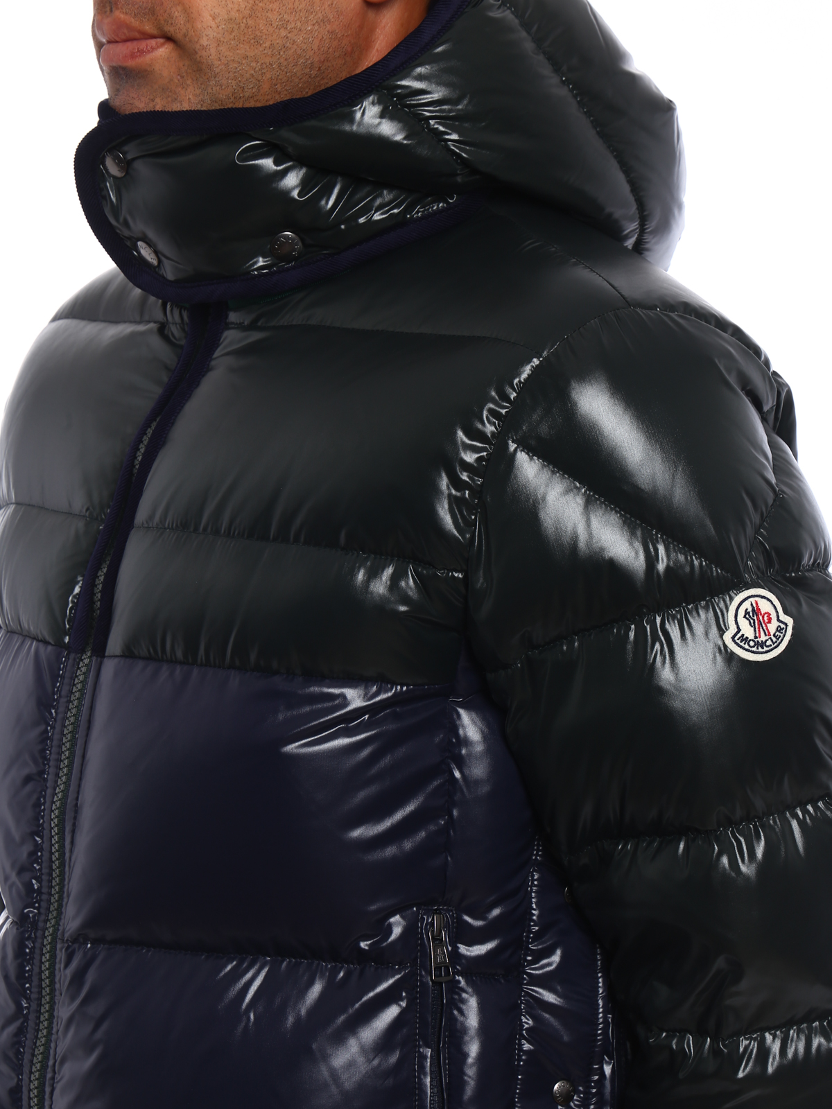 ... moncler buy online harry two tone puffer jacket