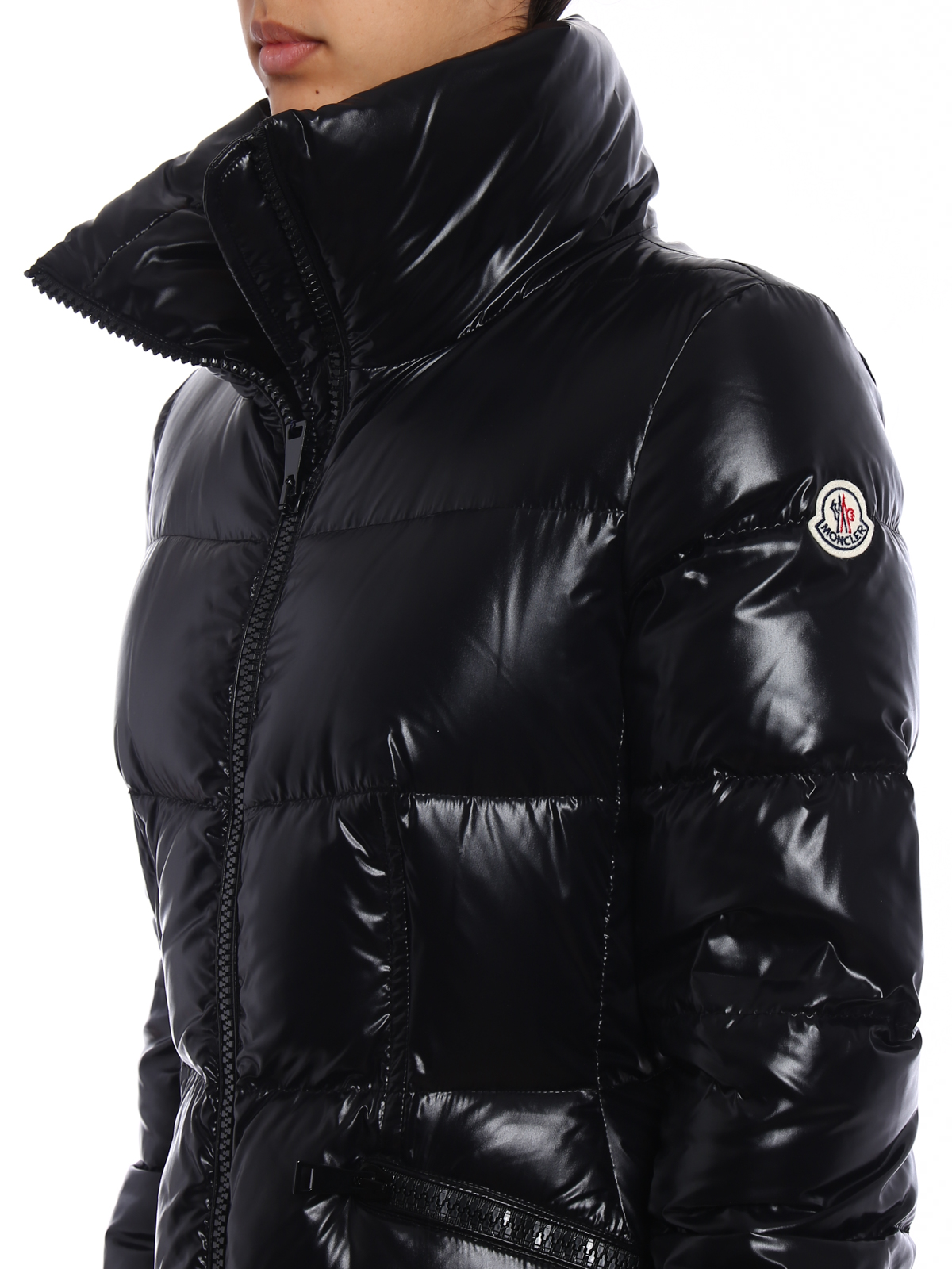 moncler black down jasminum jacket