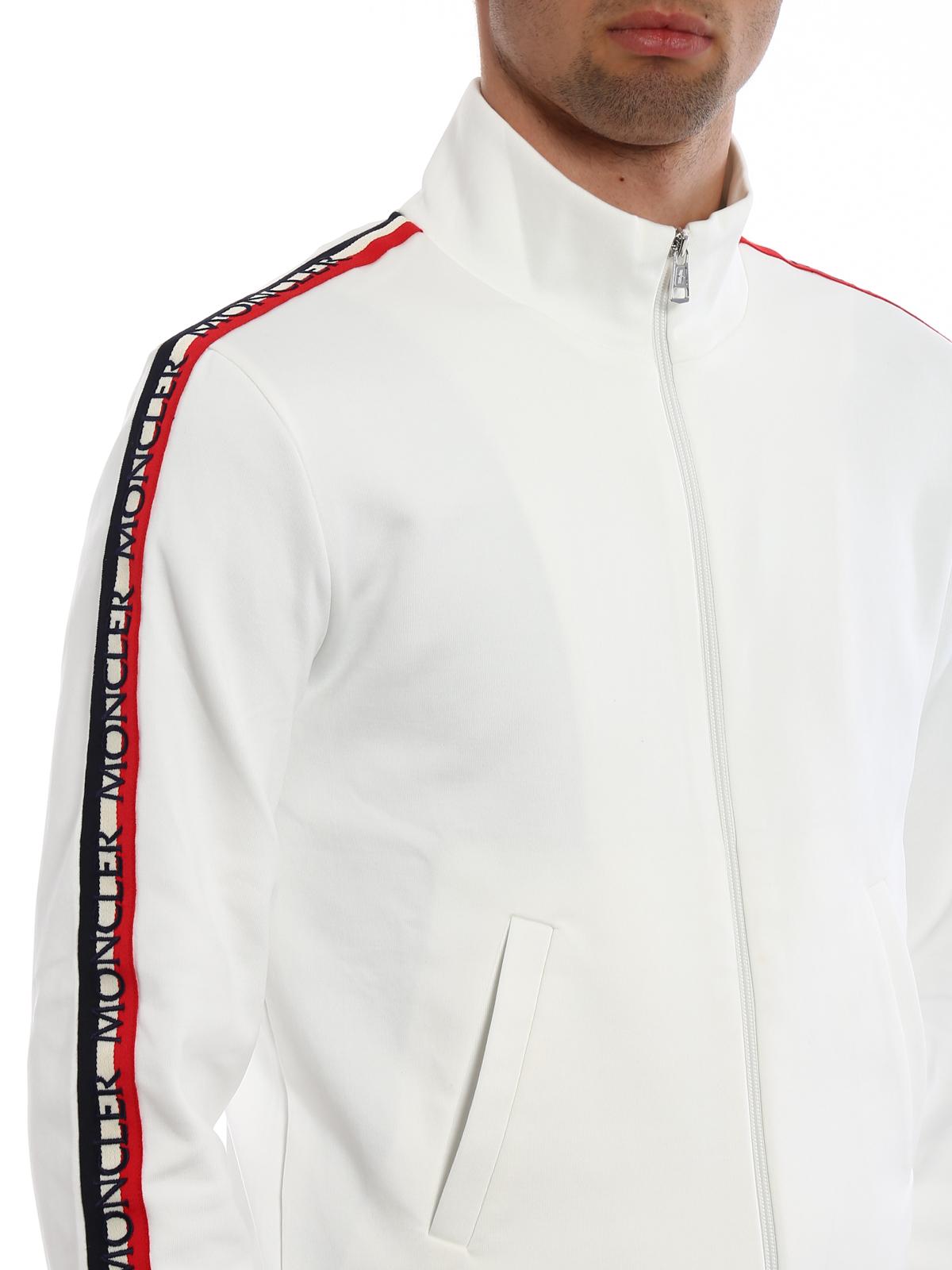 Moncler Logo detailed sleeves sweatshirt Sweatshirts
