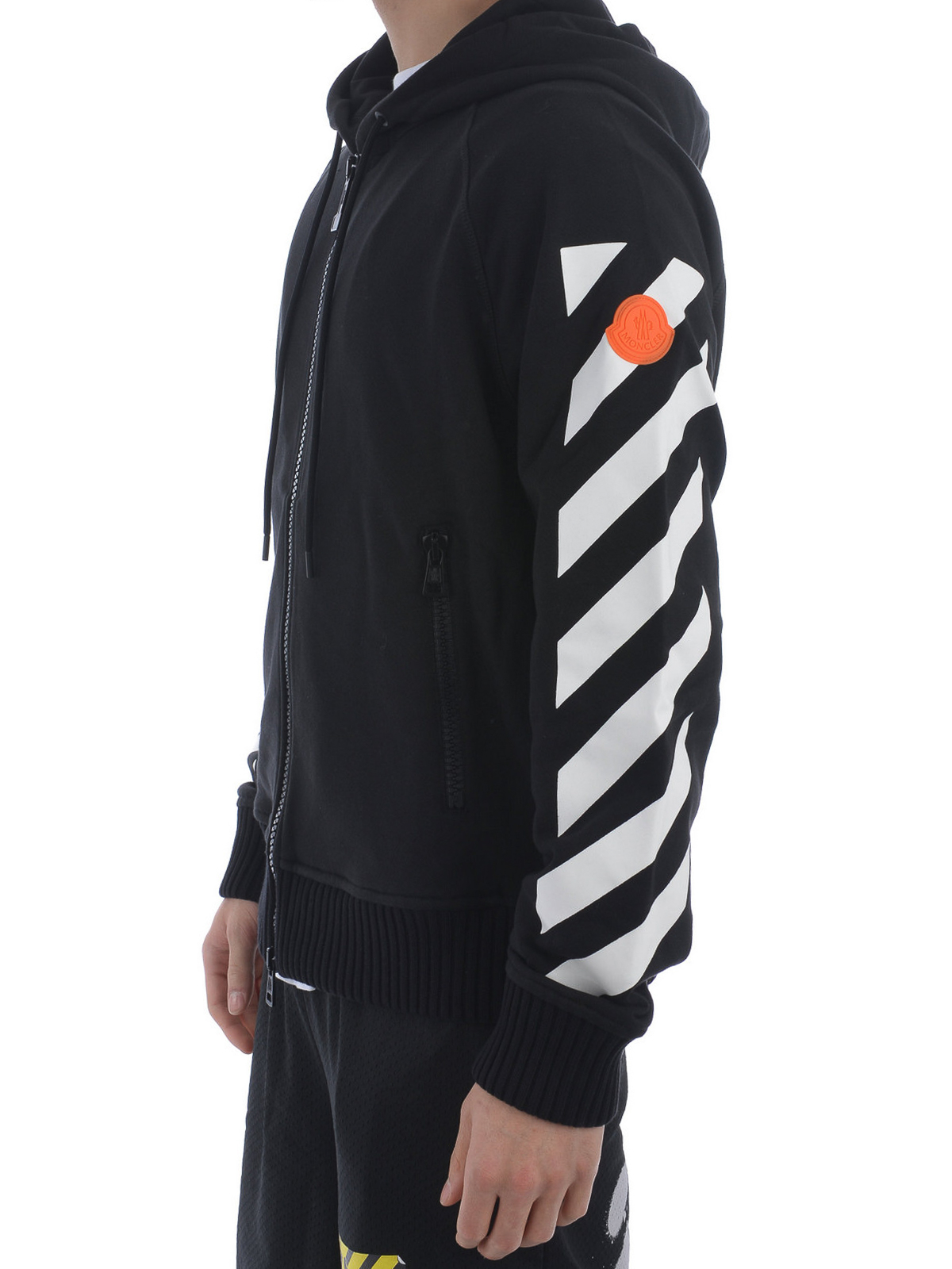 MONCLER buy online Off White cotton sweatshirt