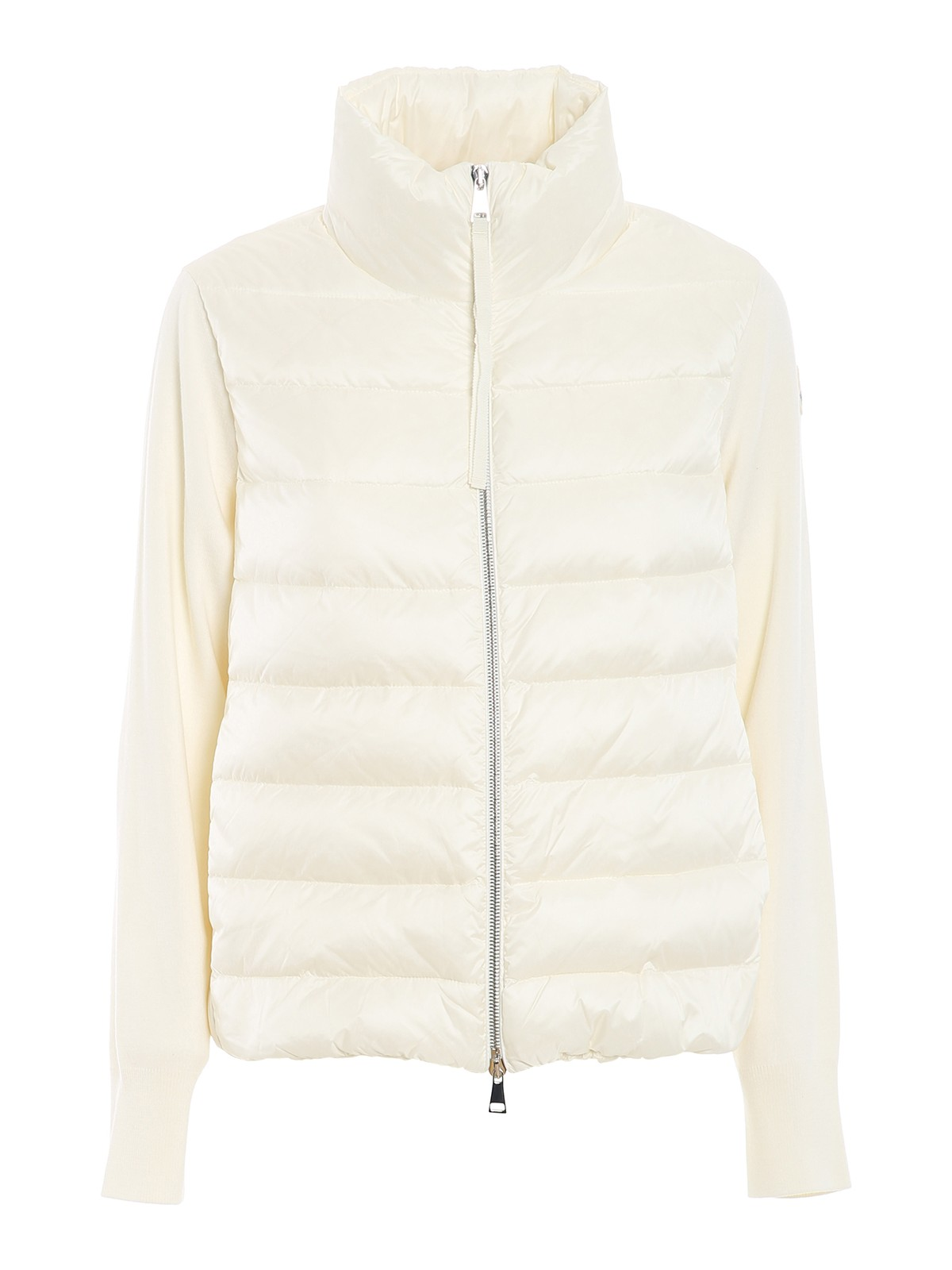 Moncler TRICOT SLEEVES PADDED CARDIGAN