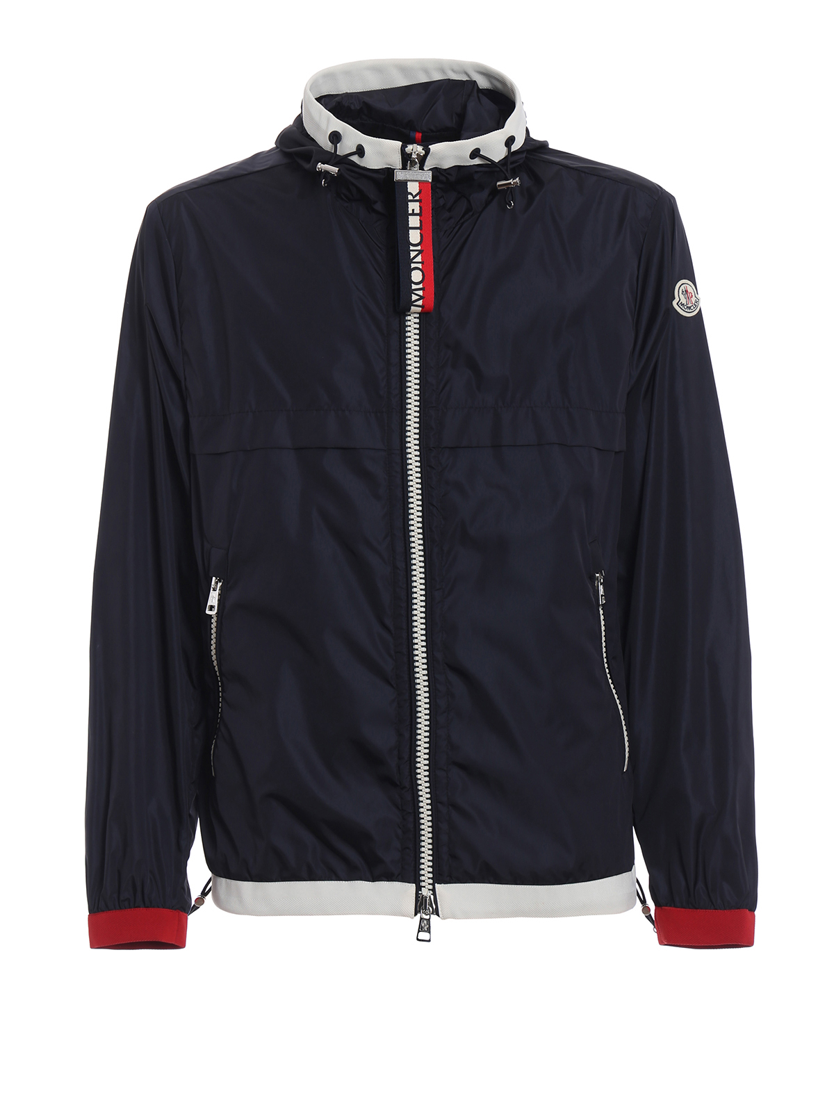 Giacca scuro Moncler D1 casual giacche blu antivento Alshat FdRRqwAS