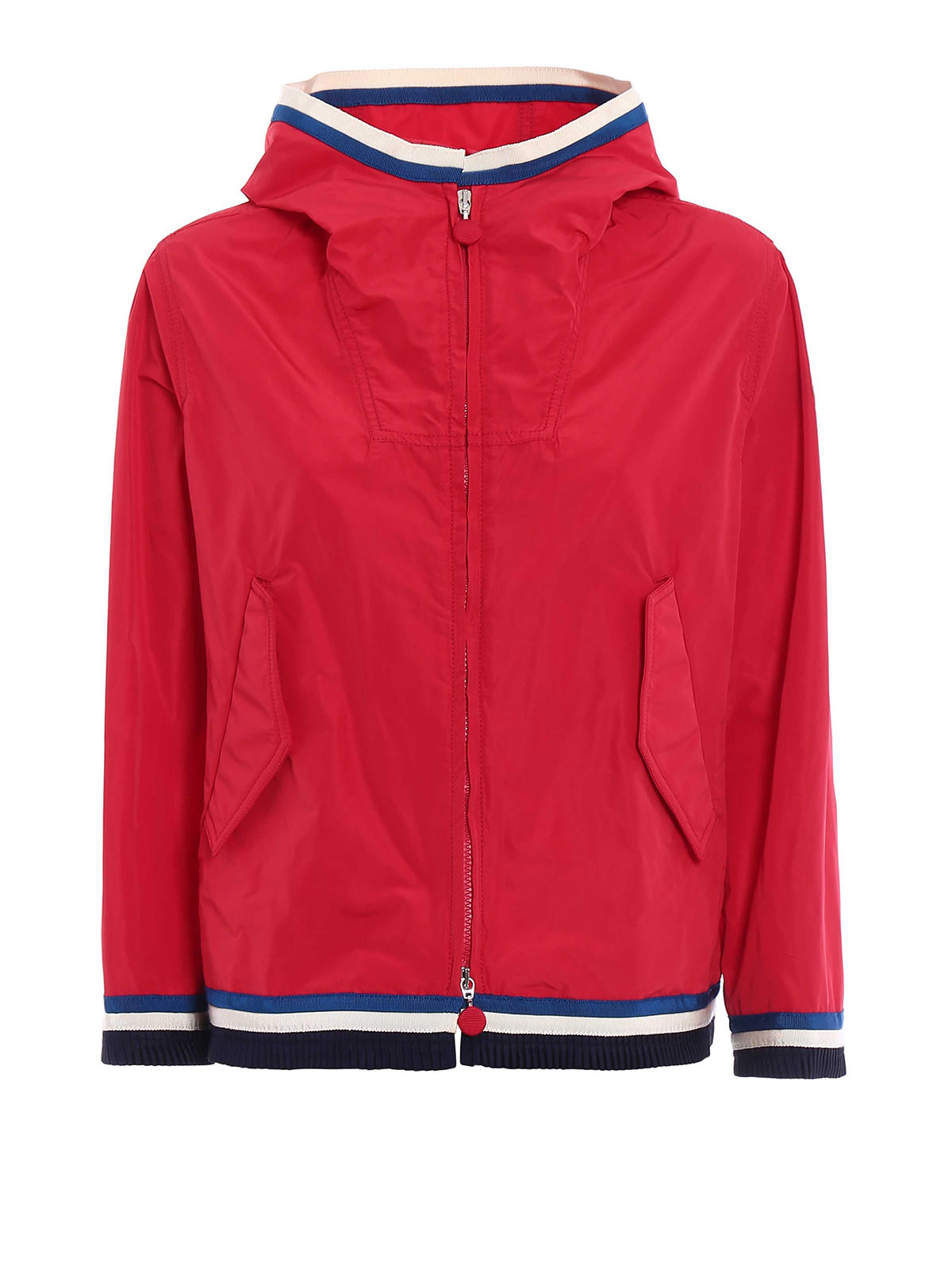 d6bf08e00cdc Moncler - Cleo hooded red windbreaker - casual jackets - D1 093 ...