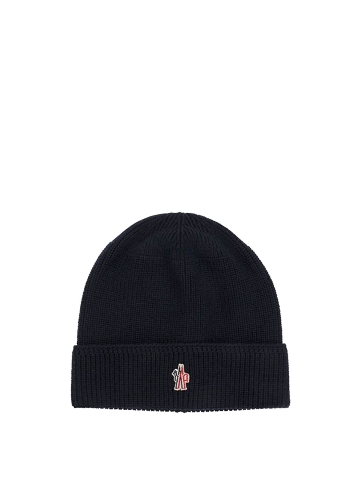 Moncler Grenoble - Logo detailed wool beanie - beanies - 2240004761999 779a9f867e1f