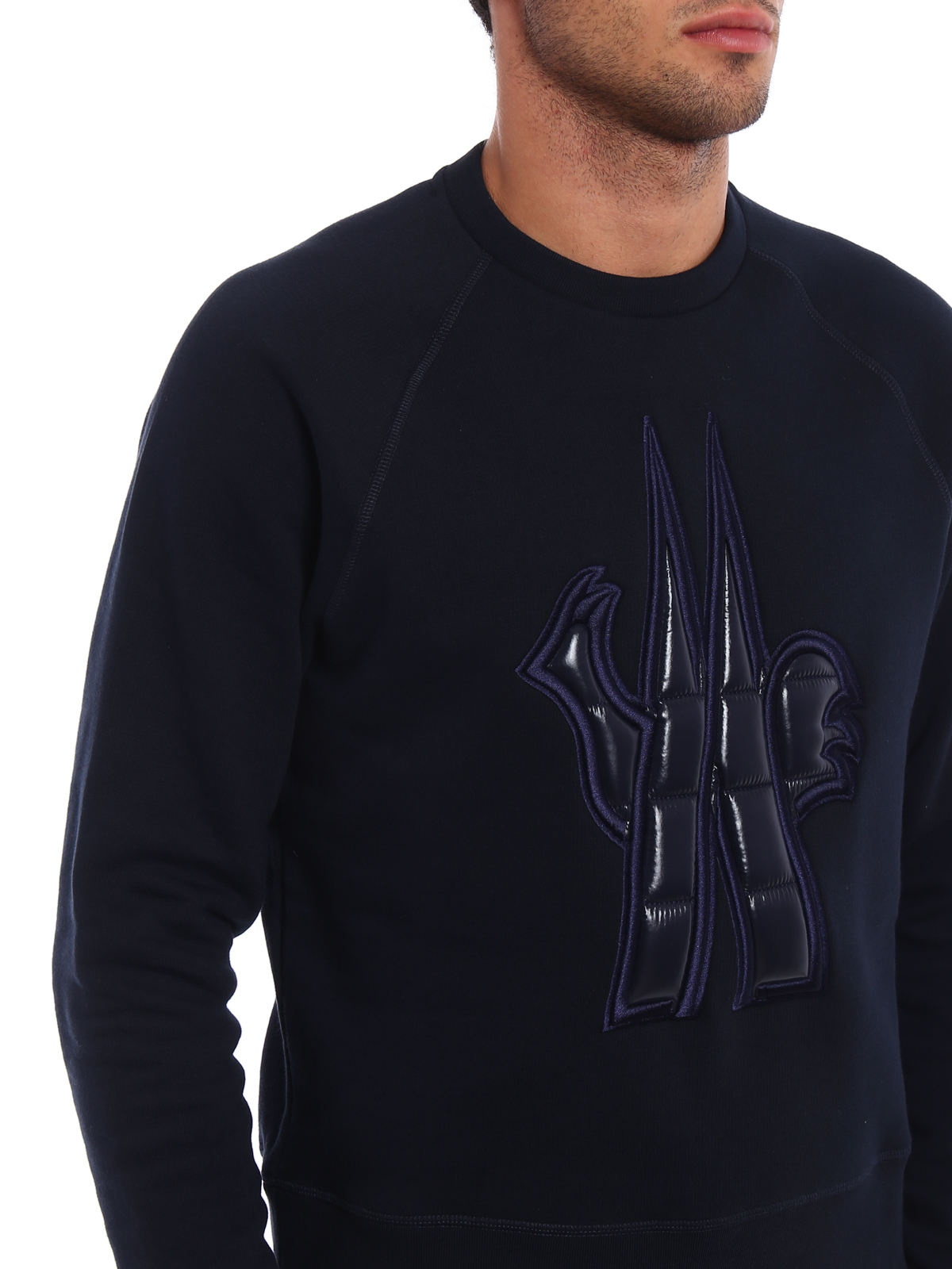 4f0a529cef3c Moncler Grenoble - Quilted nylon logo sweatshirt - Sweatshirts ...