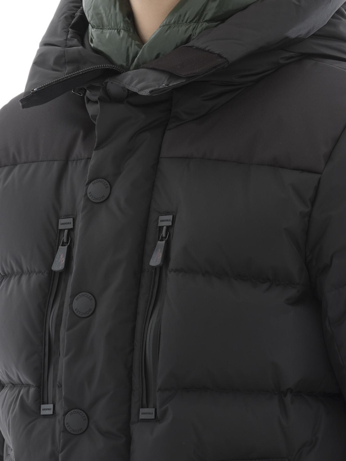 a14d018a0 Moncler Grenoble - Rodenberg two-tone down jacket - padded jackets ...