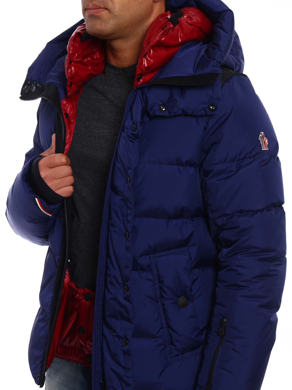 5a2c2ab2a Moncler Grenoble - Rodenberg two-tone padded jacket - padded jackets ...