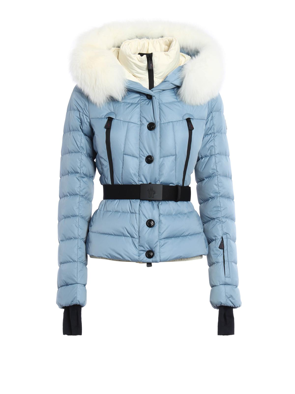 3332d13c3 Moncler Grenoble - Beverley fur trim hooded jacket - padded jackets ...