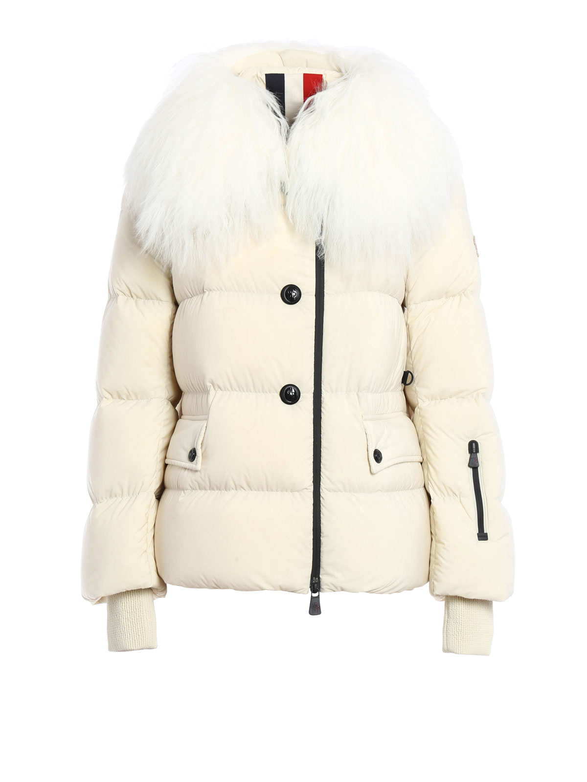 e15f5782a Moncler Grenoble - Rumier fur detailed padded jacket - padded ...