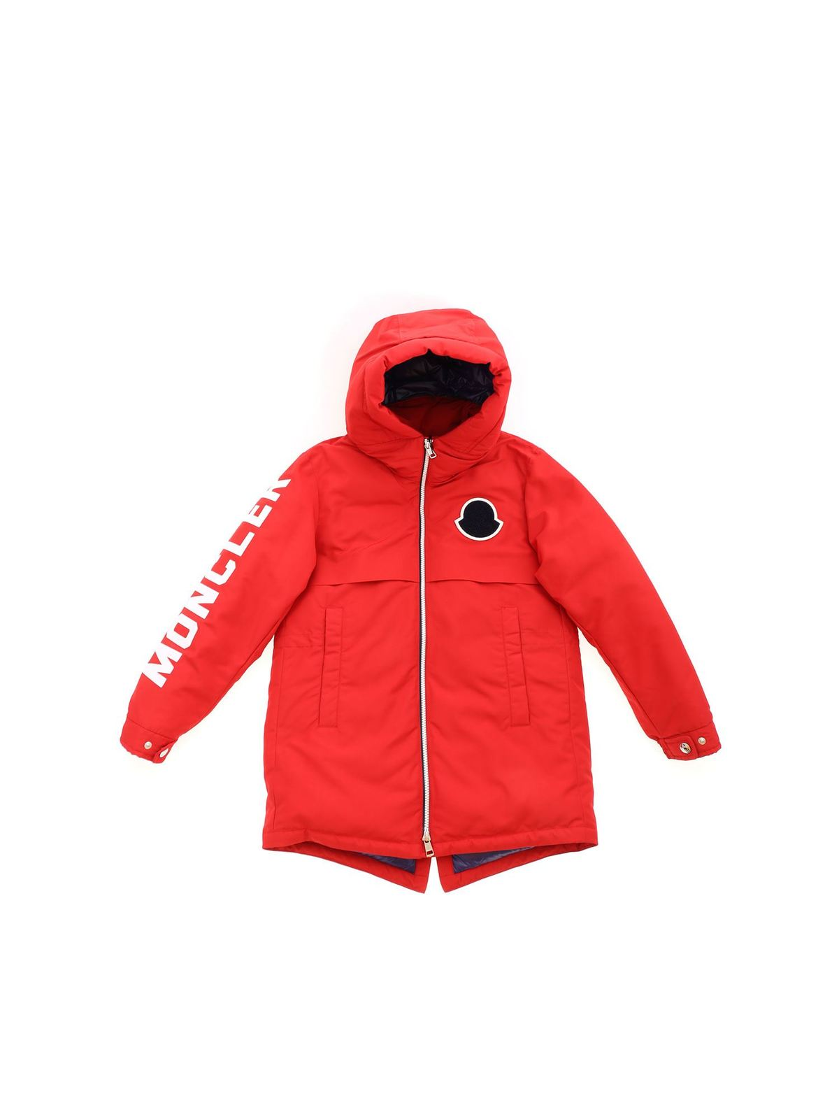 MONCLER JR AIRON DOWN JACKET IN RED