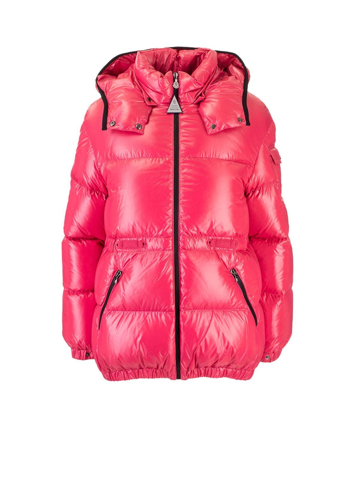Moncler Jr Downs BADYMORE DOWN JACKET IN CORAL COLOR
