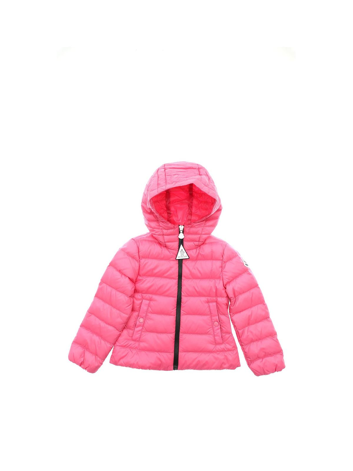 MONCLER JR GLYCINE DOWN JACKET IN PINK