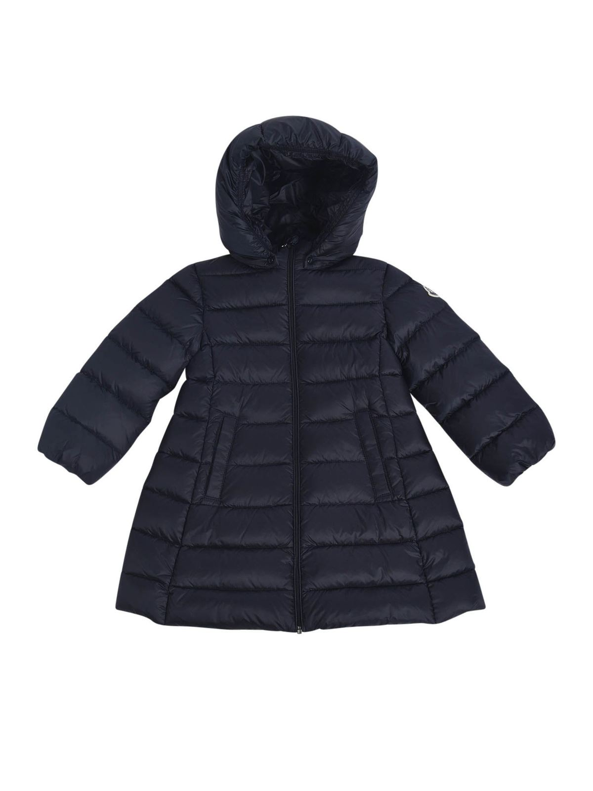 MONCLER JR MAJEURE DOWN JACKET IN BLUE