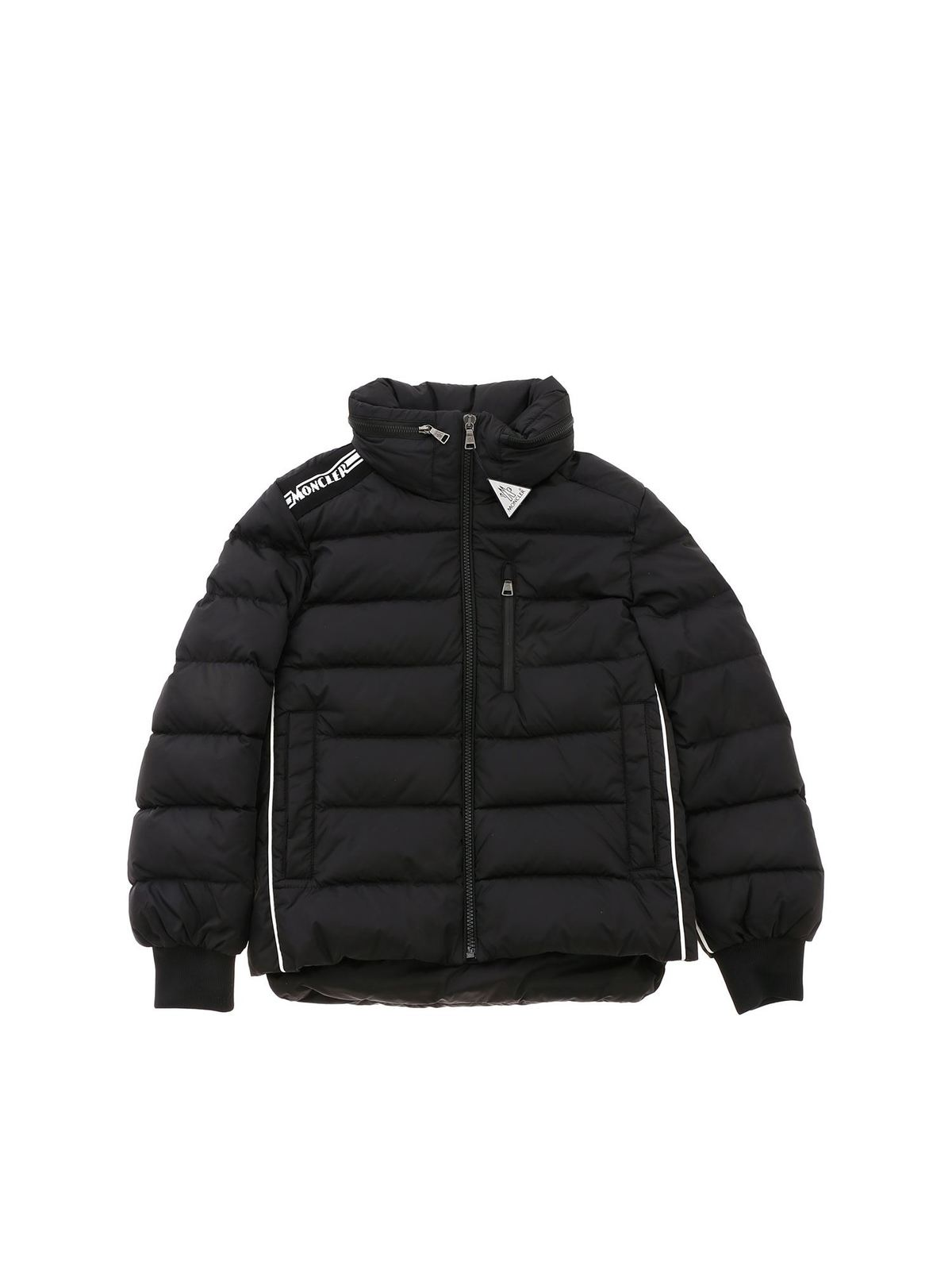 MONCLER JR QUEYRON DOWN JACKET IN BLACK