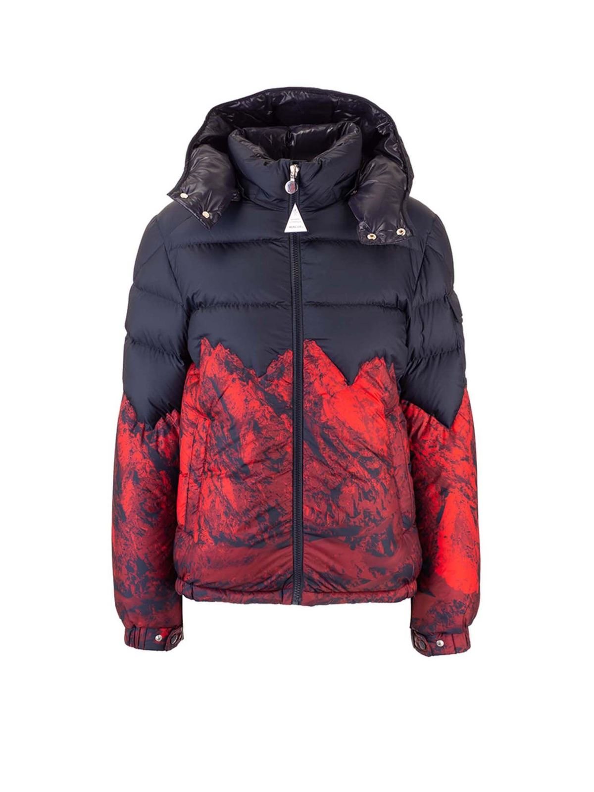 Moncler Jr Downs WIND MONCLER KIDS DOWN JACKET IN BLACK