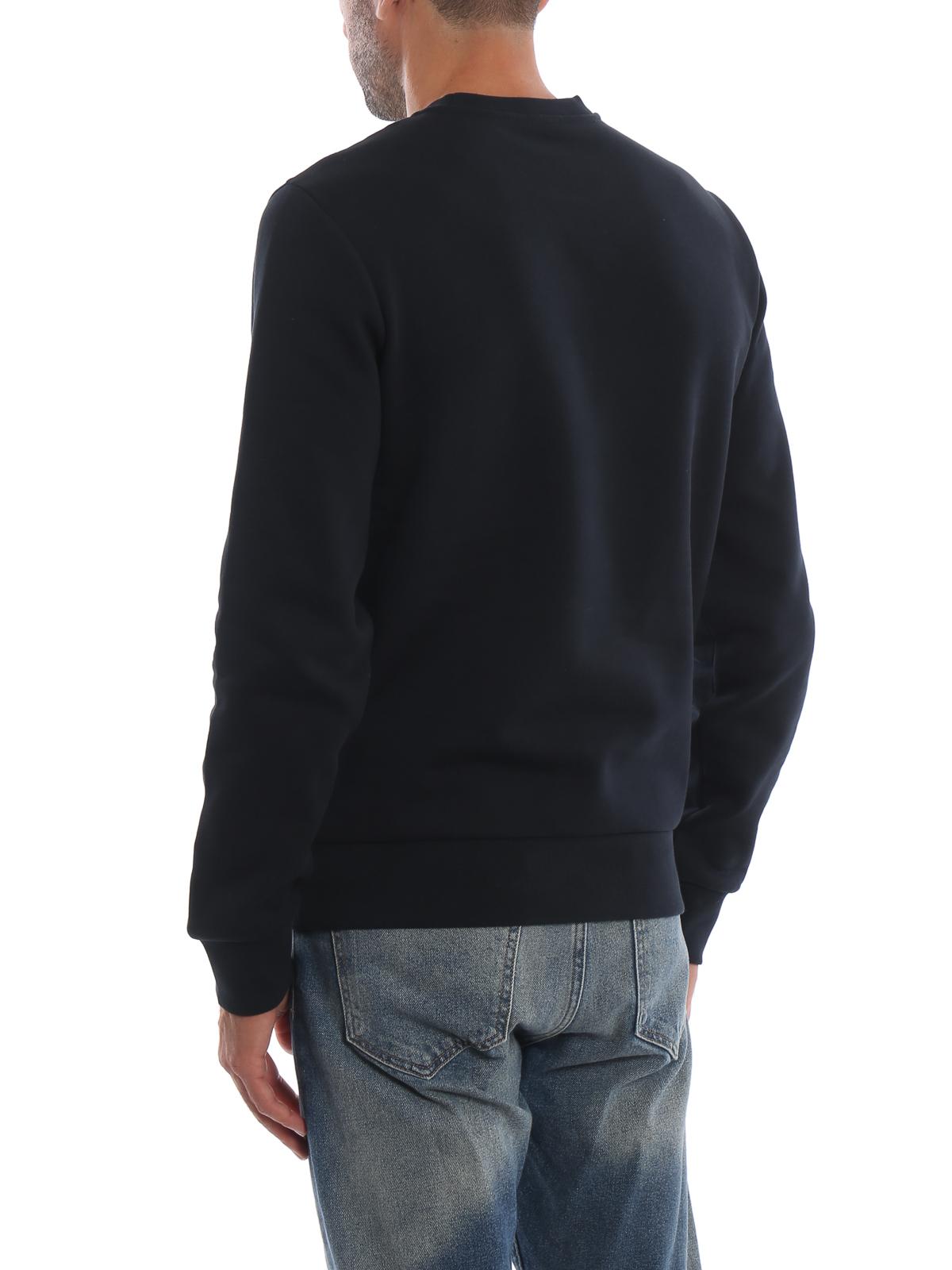 moncler sweatshirt dark blue