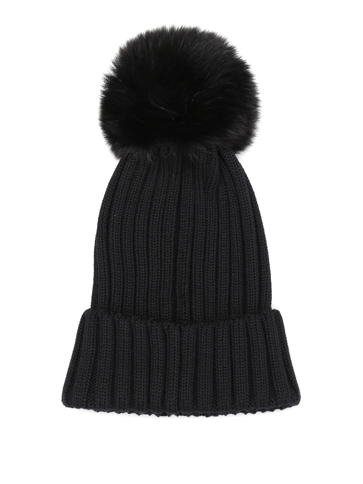 Moncler Bonnet Noir Pour Femme Bonnets B2 093 0021900