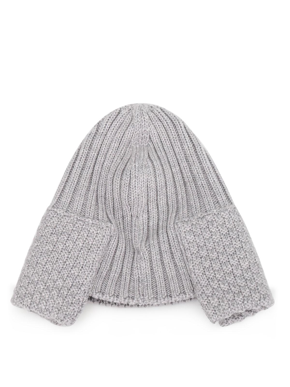 2a78ad1b5e8 Moncler - Knit virgin wool beanie - beanies - B2 093 0021600 03510 987