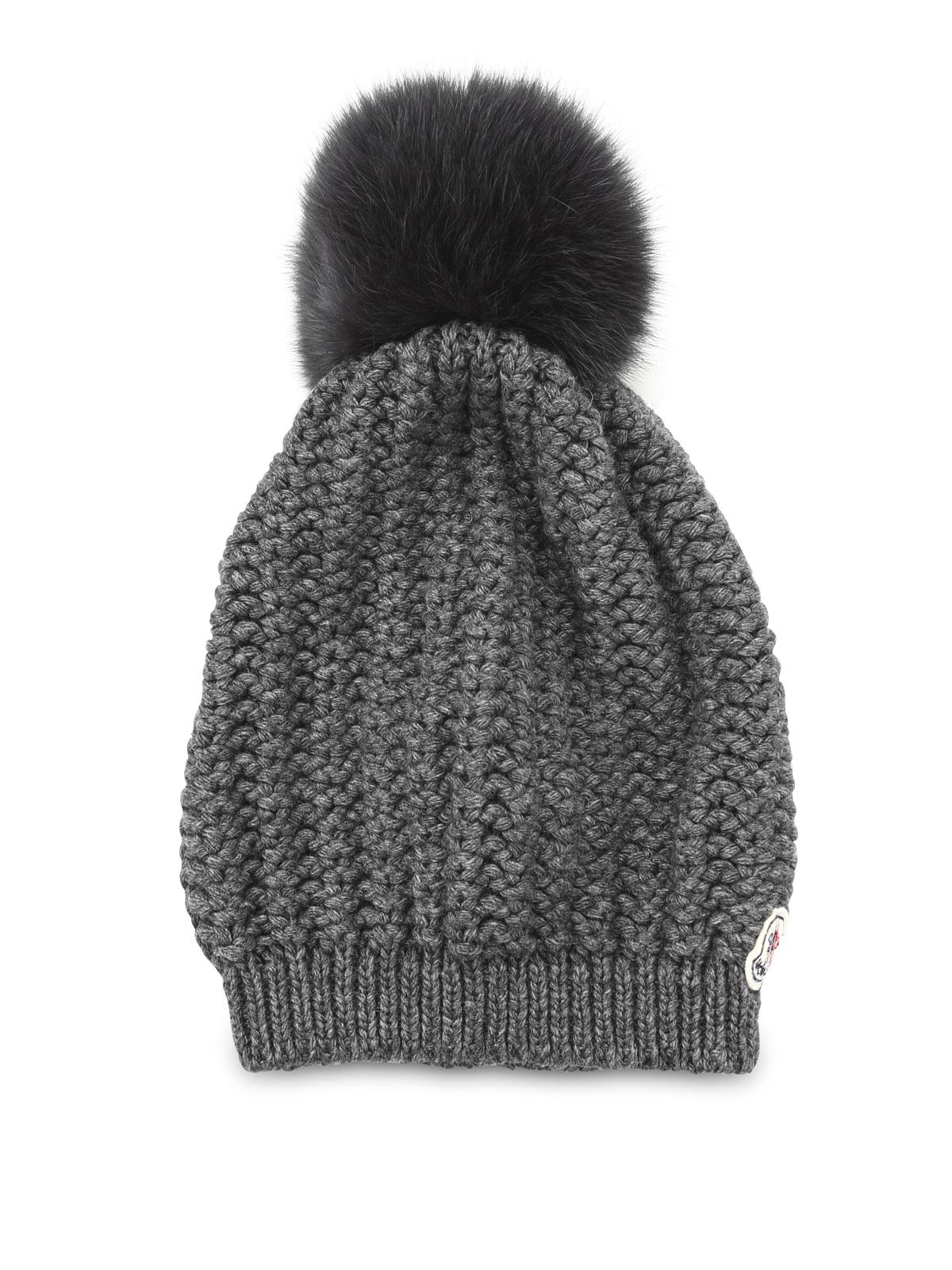 cappello lana moncler