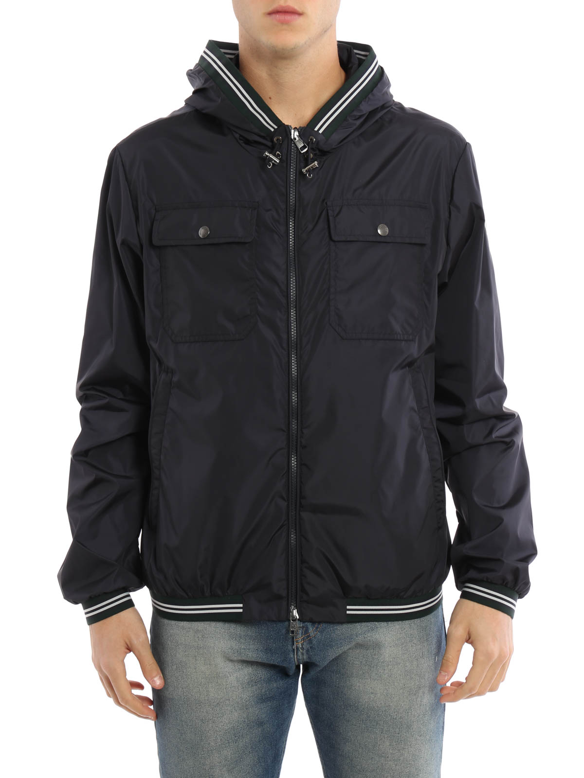 5db85a6a3 Moncler - Jeanclaude hooded nylon jacket - casual jackets - C1 091 ...