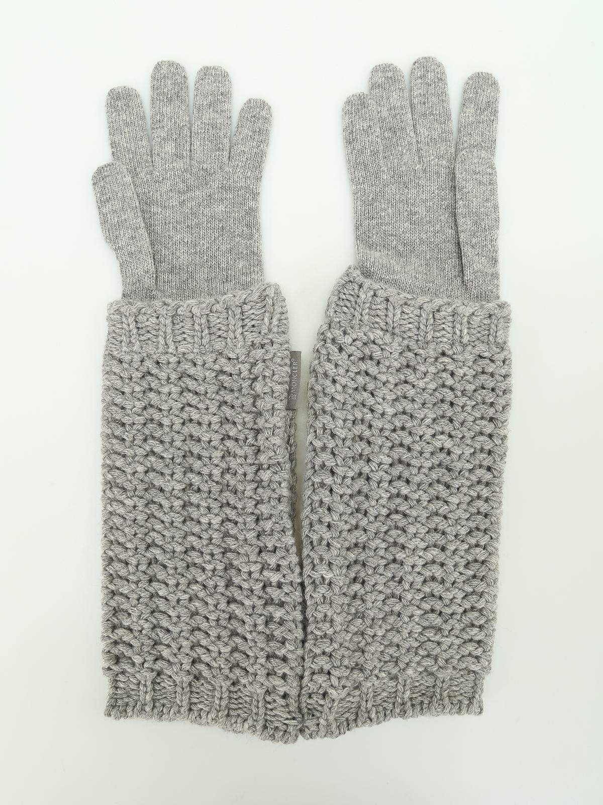 guanti moncler uomo
