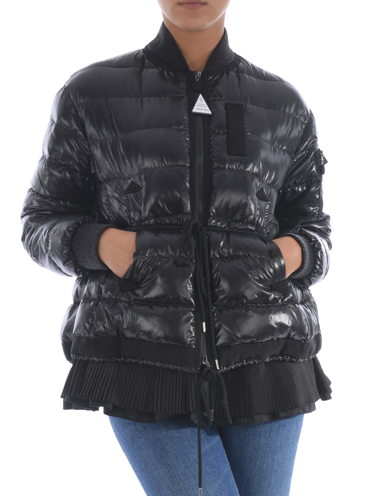 971ba0afc Moncler - Lucy pleated bottom padded jacket - padded jackets ...