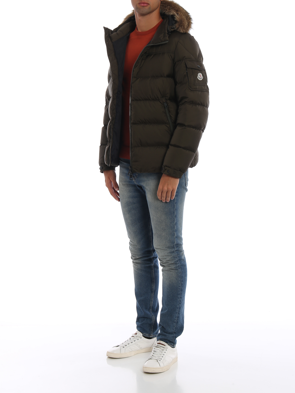 2b903dbb7 Moncler - Marque fur trimmed hood puffer jacket - padded jackets ...