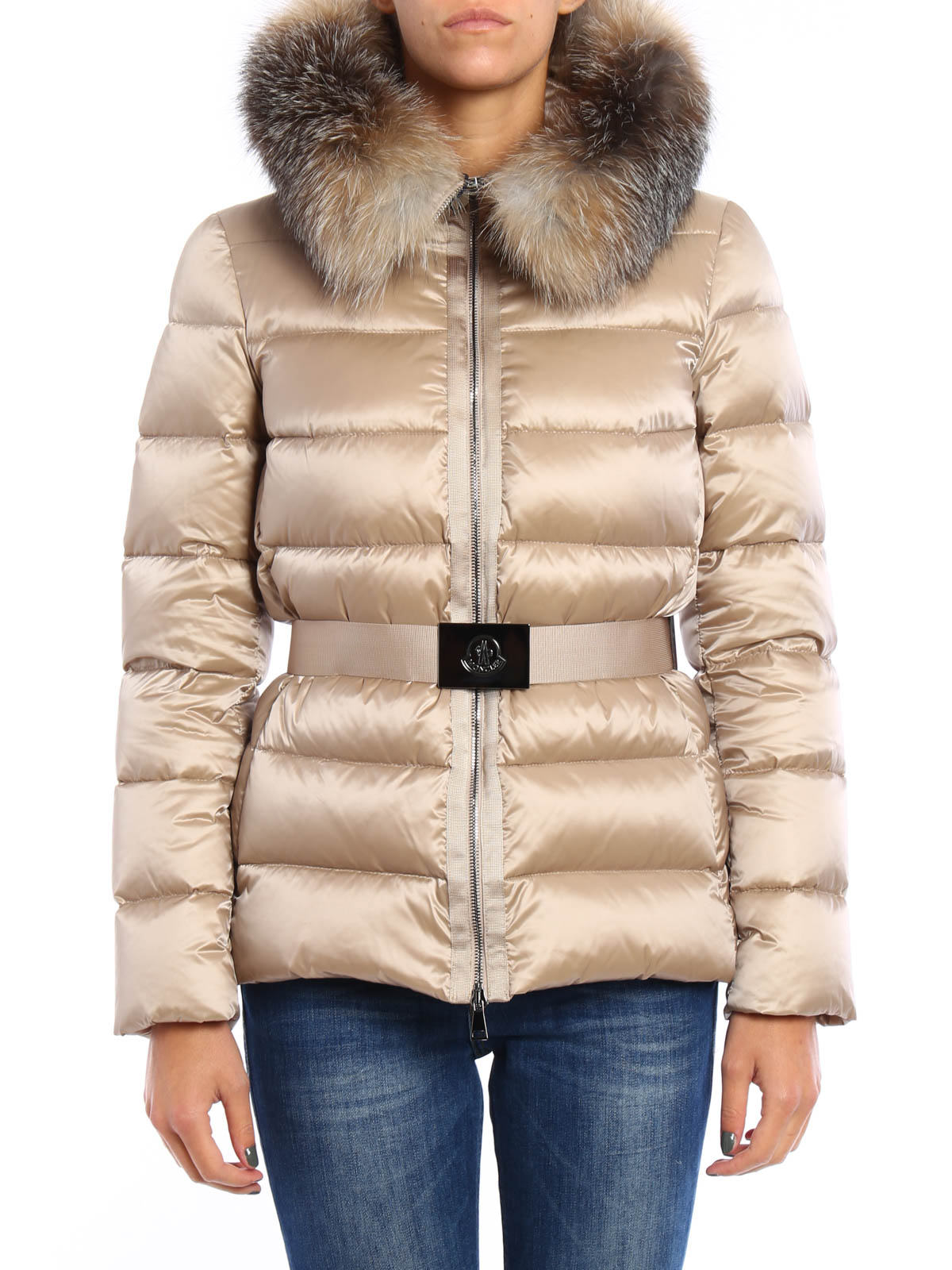 MONCLER: padded jackets online - Tatie quilted and padded jacket