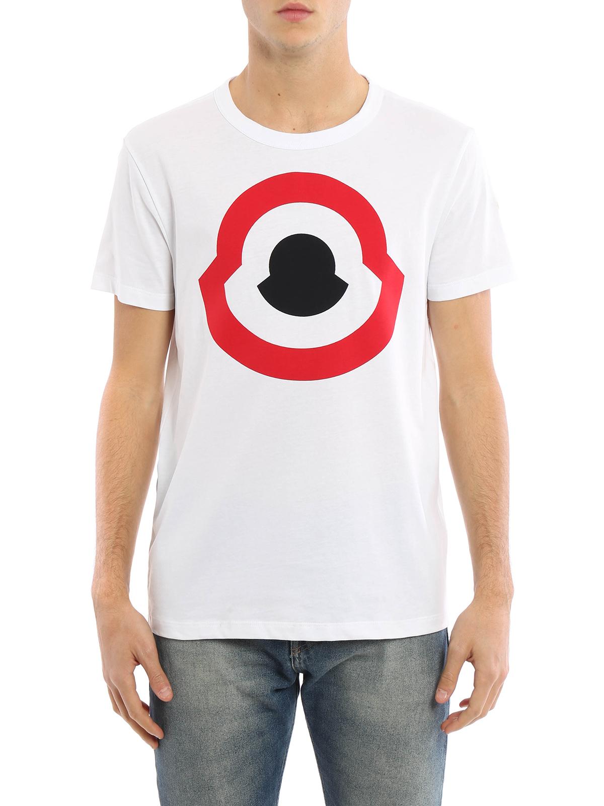 62cd50b15f18 Moncler - Logo print T-shirt - t-shirts - C1 091 8020350 82565 001