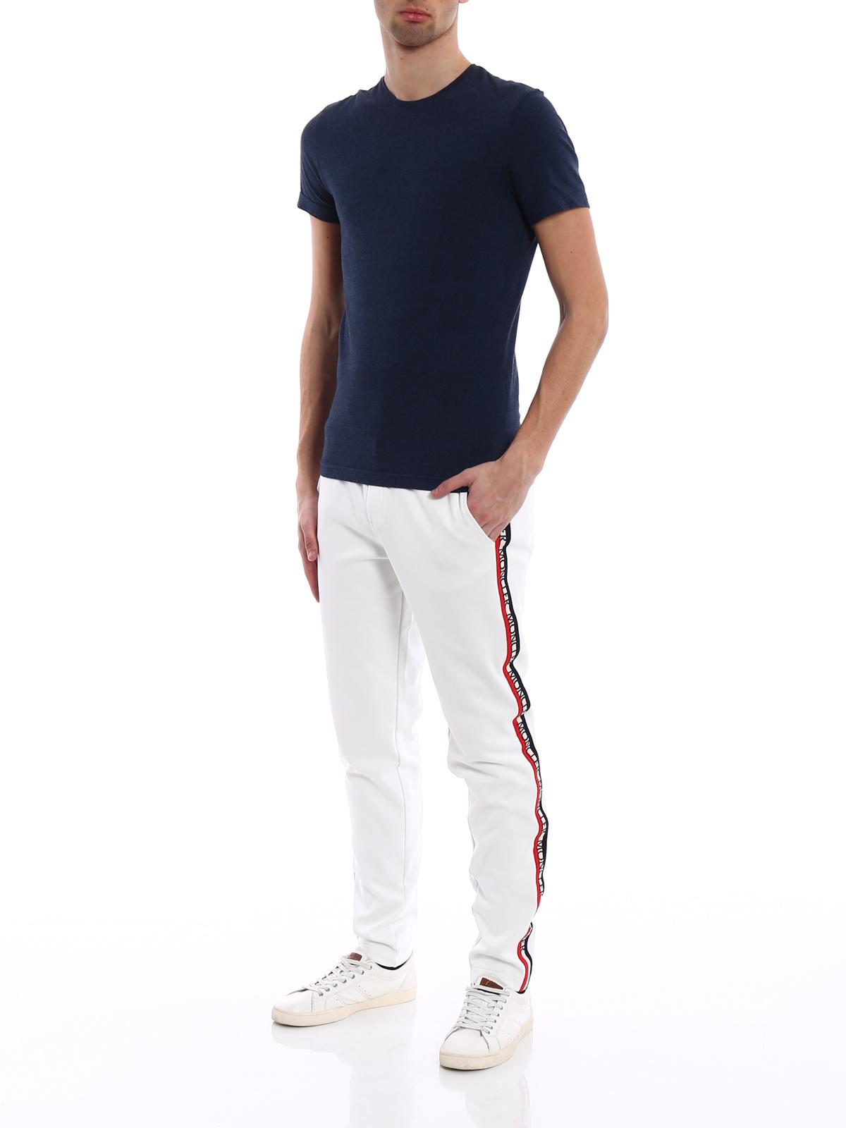 Moncler Pantalones De Chᄄᄁndal blanco