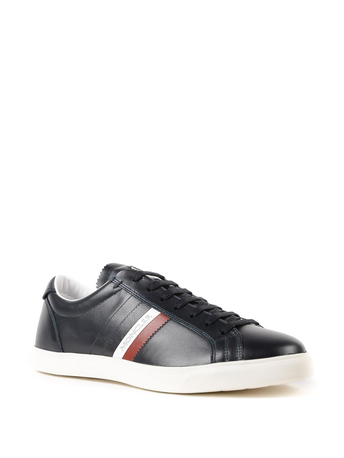 Moncler - La Monaco navy blue sneakers