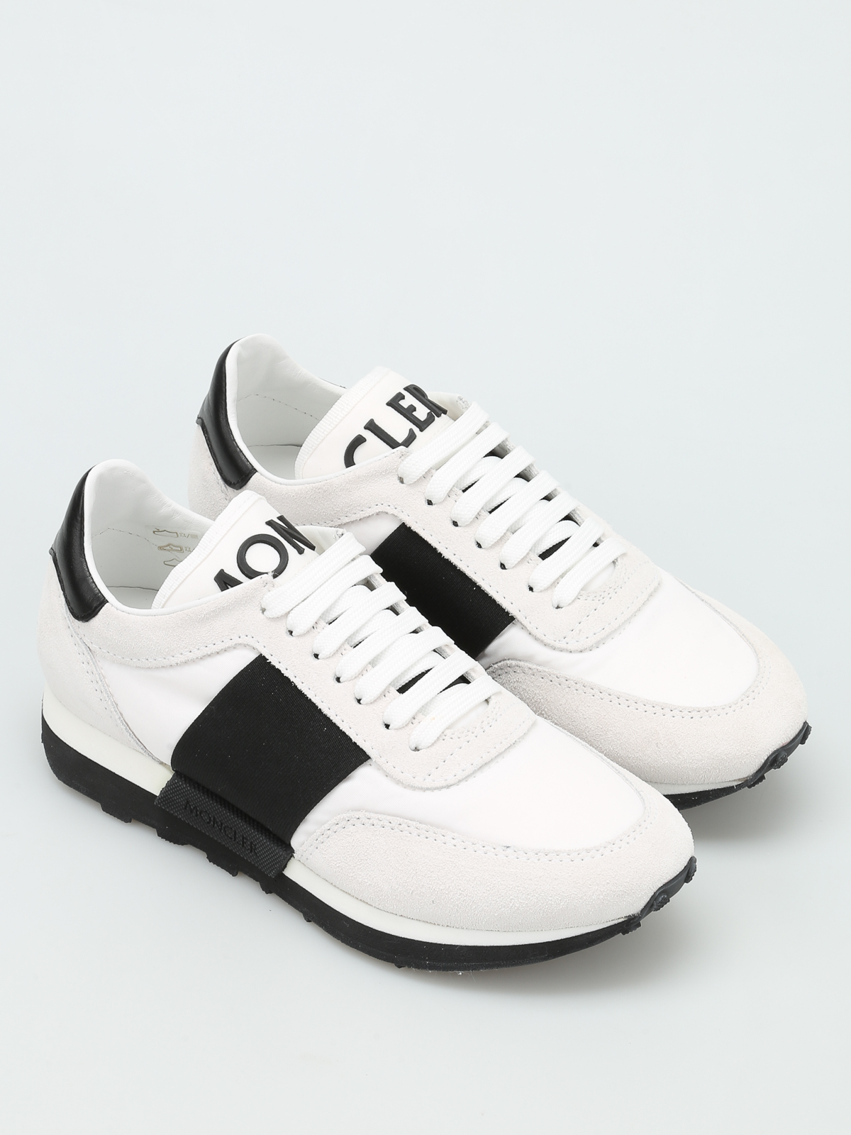1d77c9c947a0 MONCLER  Chaussures de sport online - Louise fabric and leather sneakers