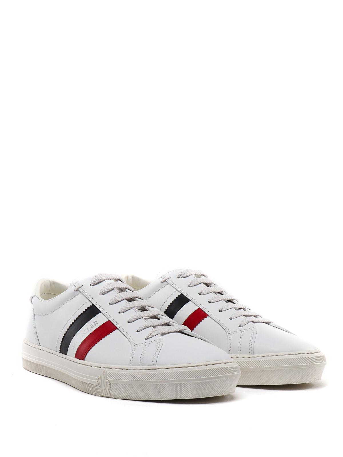 Moncler - New Monaco white leather