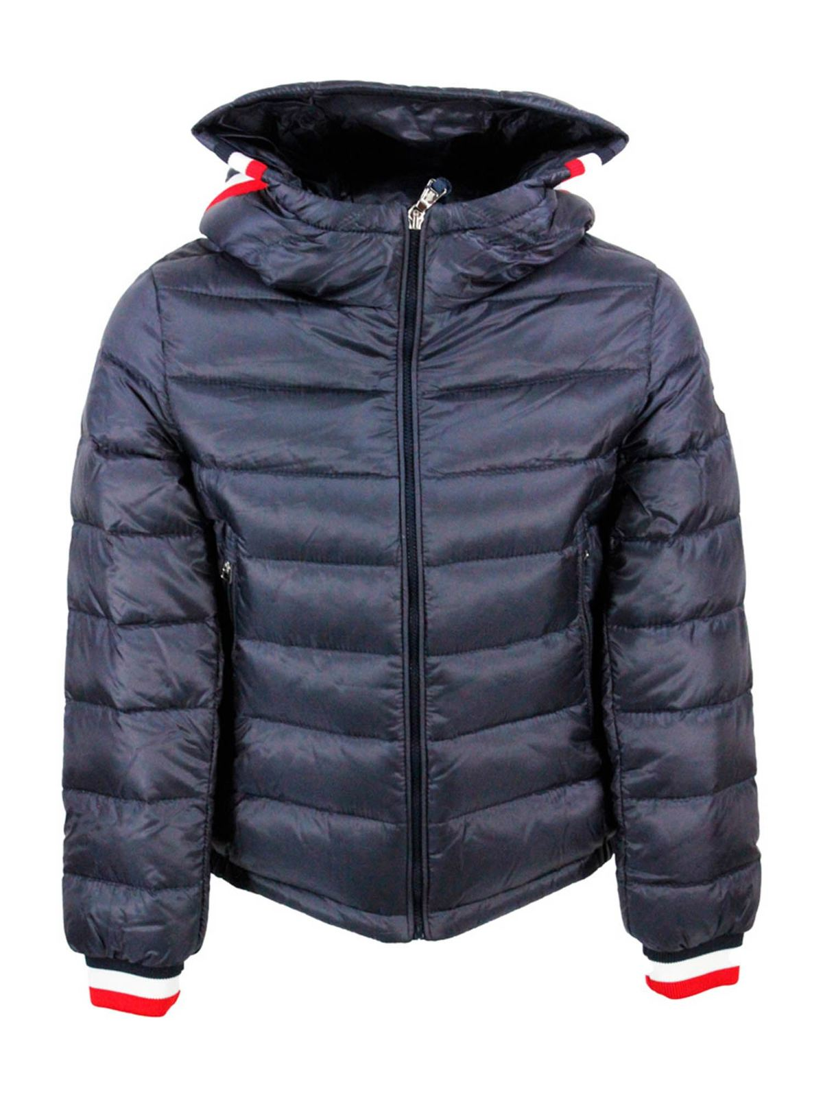 Moncler GIROUX DOWN JACKET IN BLUE