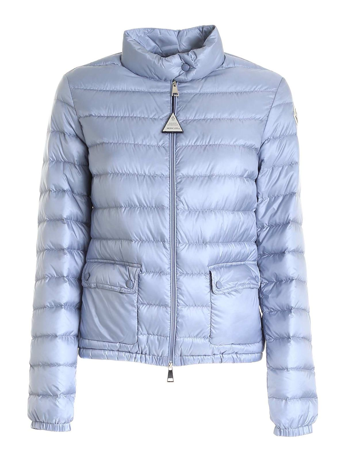 Moncler LANS DOWN JACKET IN LIGHT BLUE