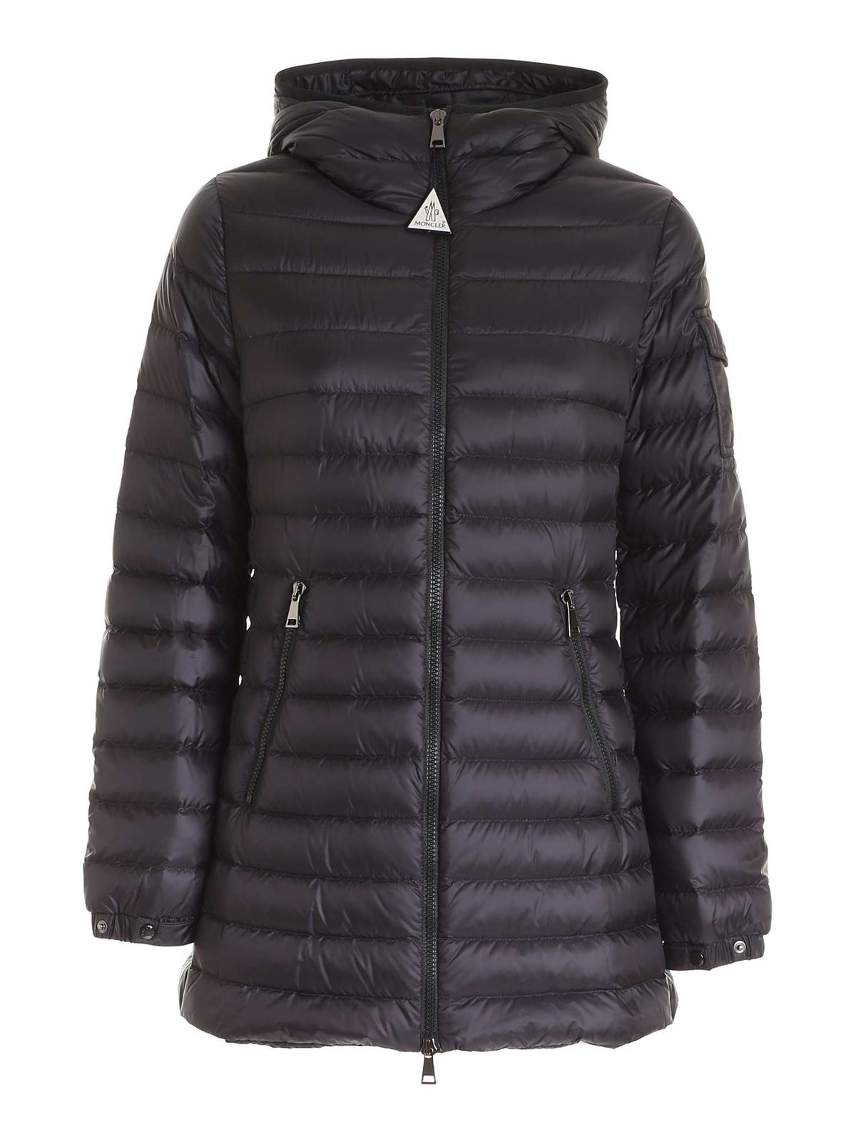 MONCLER MENTS QUILTED DOWN JACKET IN BLACK