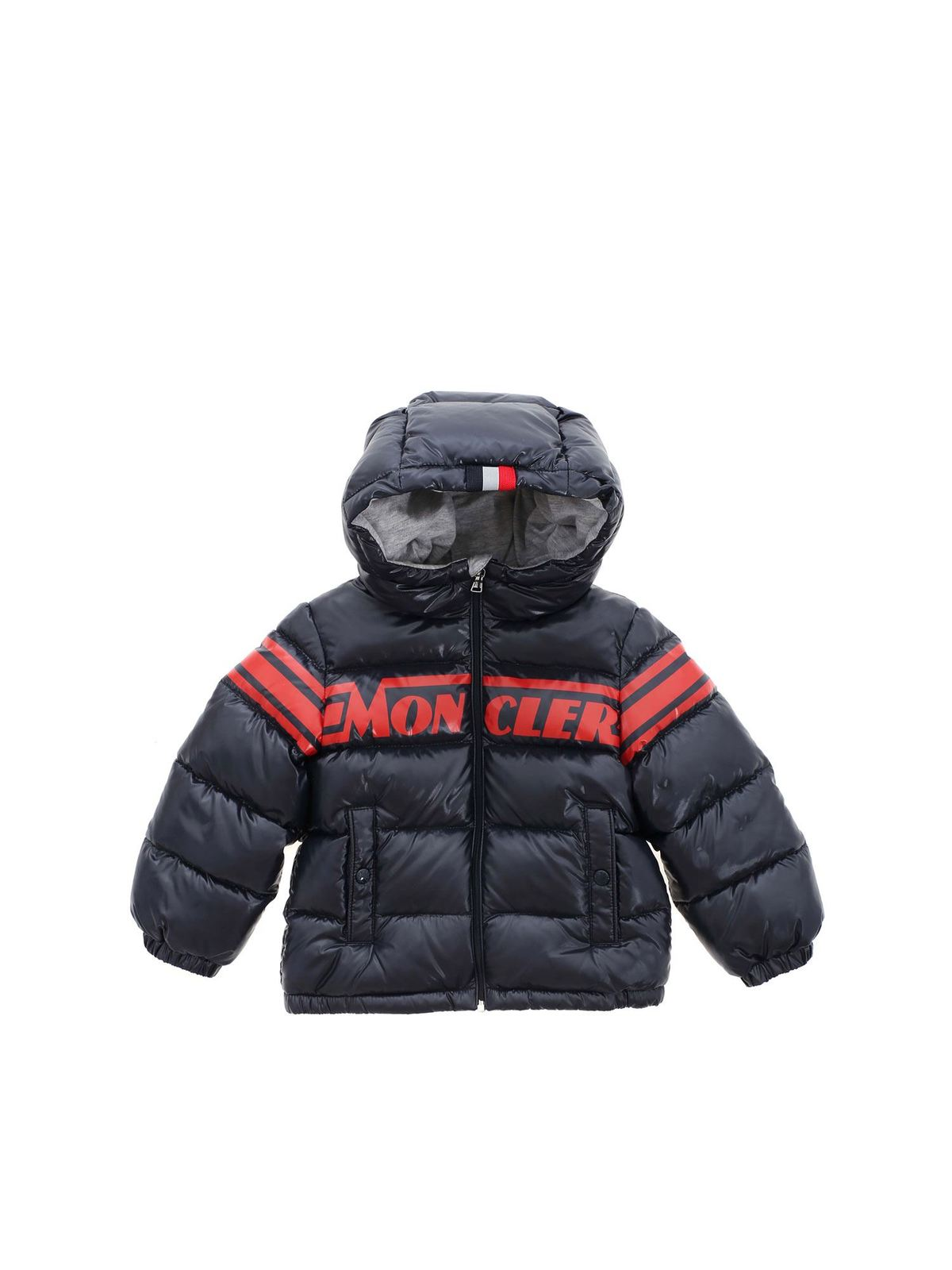 MONCLER NASSE DOWN JACKET IN BLUE