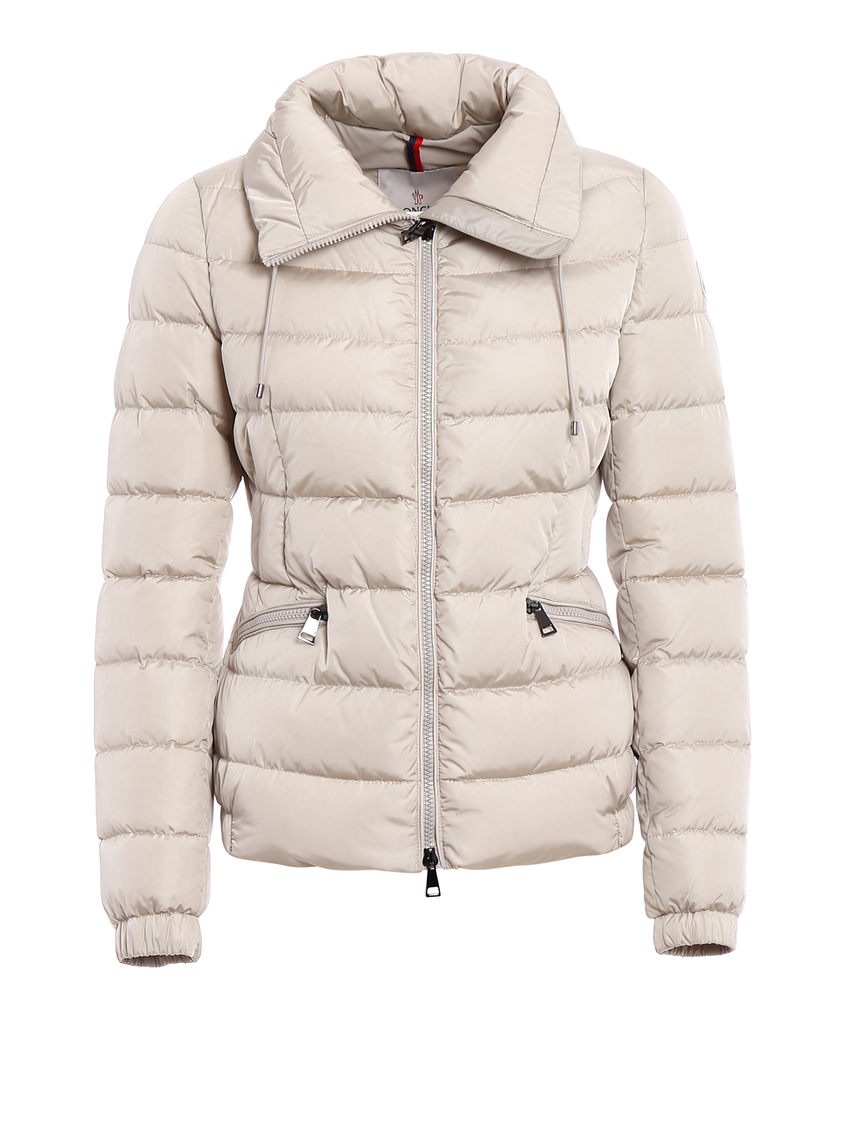 MONCLER: padded jackets - Irex fitted padded nylon jacket